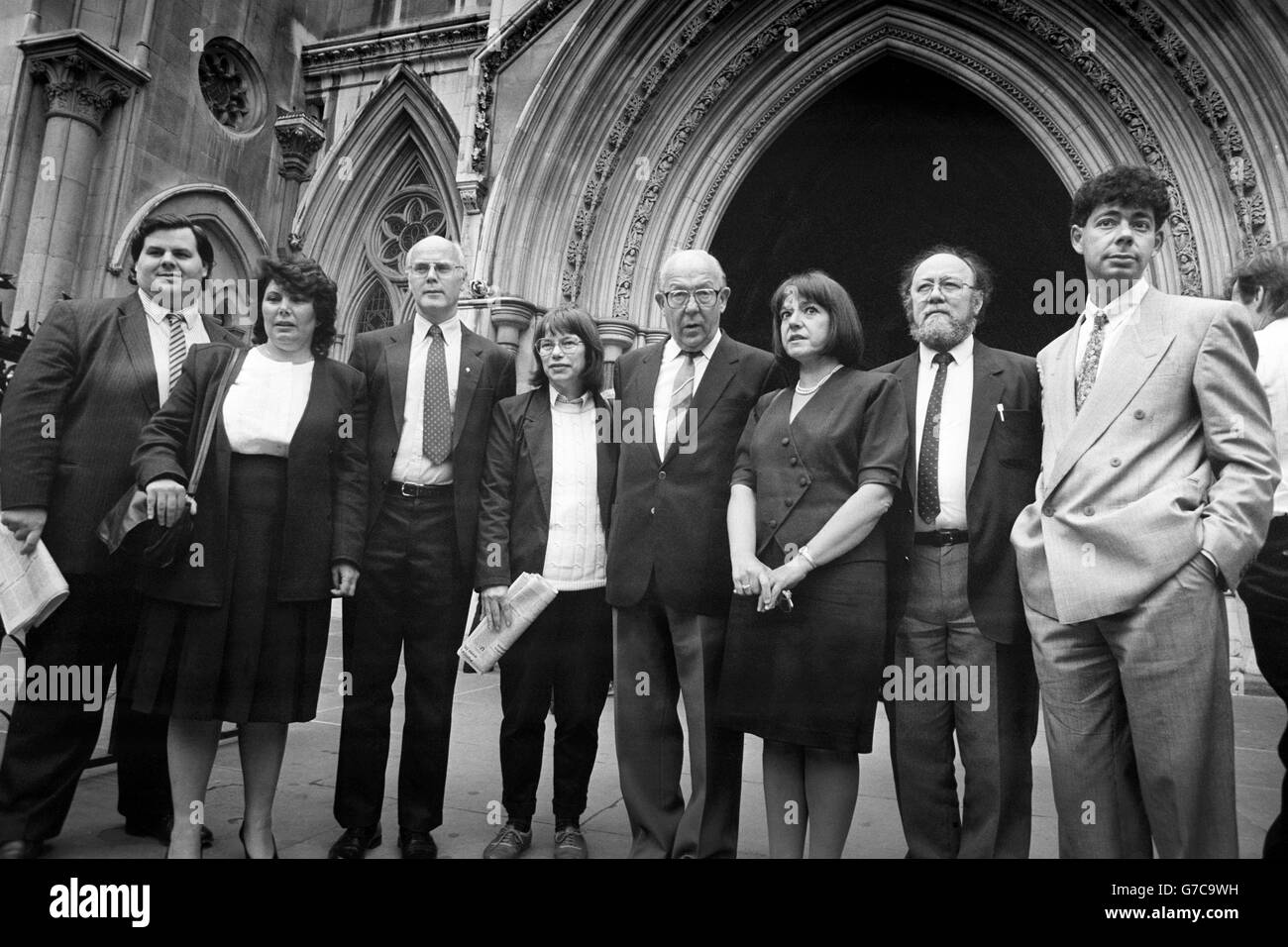 Politics - Poll Tax Capping Order - High Court, London Stock Photo