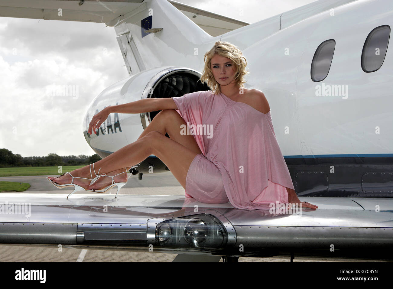 Jodie Kidd - Club 328 - Stock Image