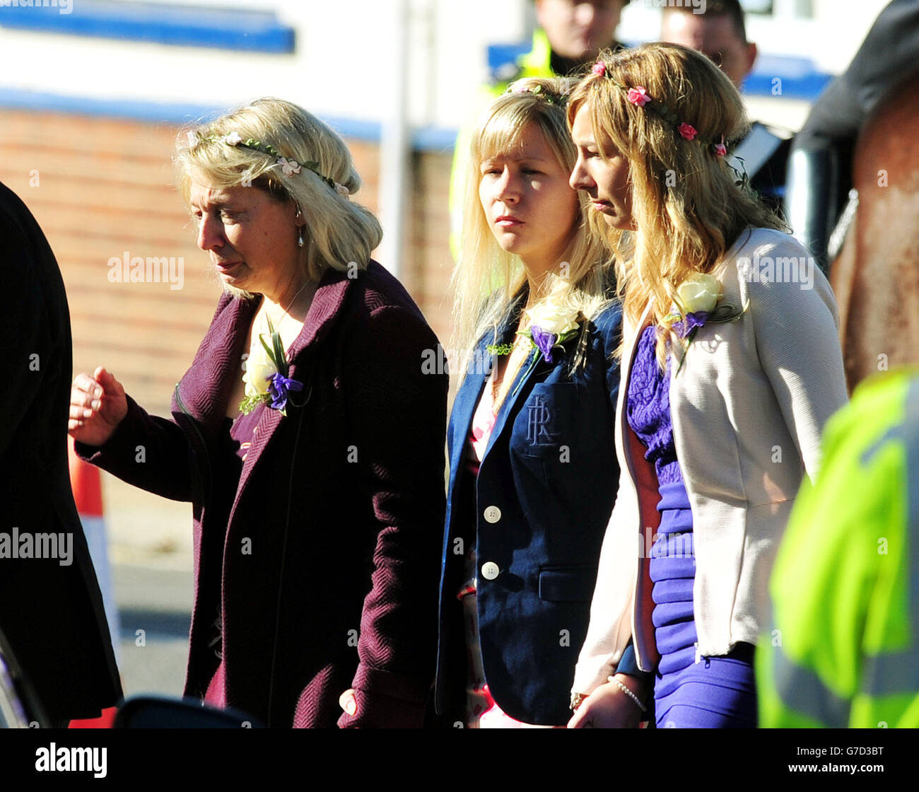Meghan Mccain Cries During John Mccain S Arizona Service: For Her Daughters Funeral Stock Photos & For Her Daughters