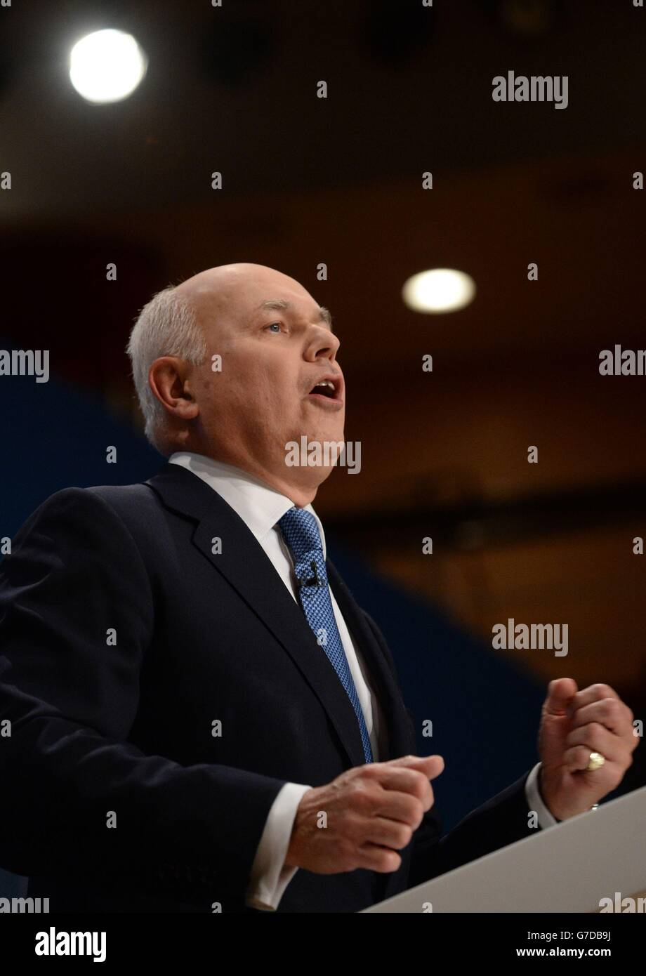 Conservative Party annual conference 2014 - Stock Image