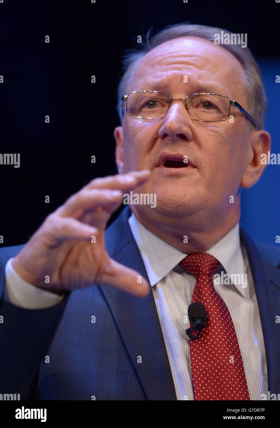 Institute of Directors annual conference - London - Stock Image