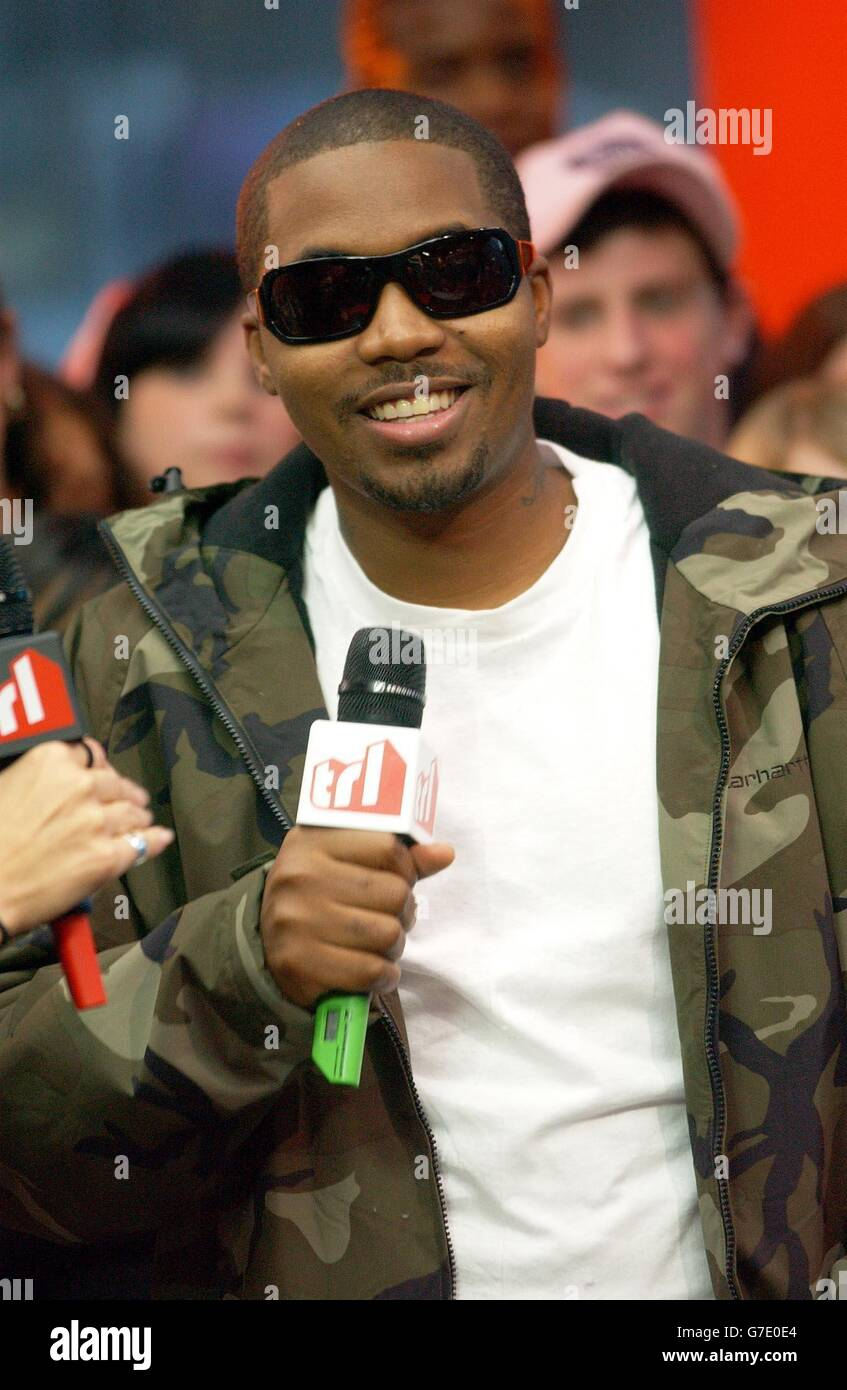 Nas MTV TRL UK Stock Photo