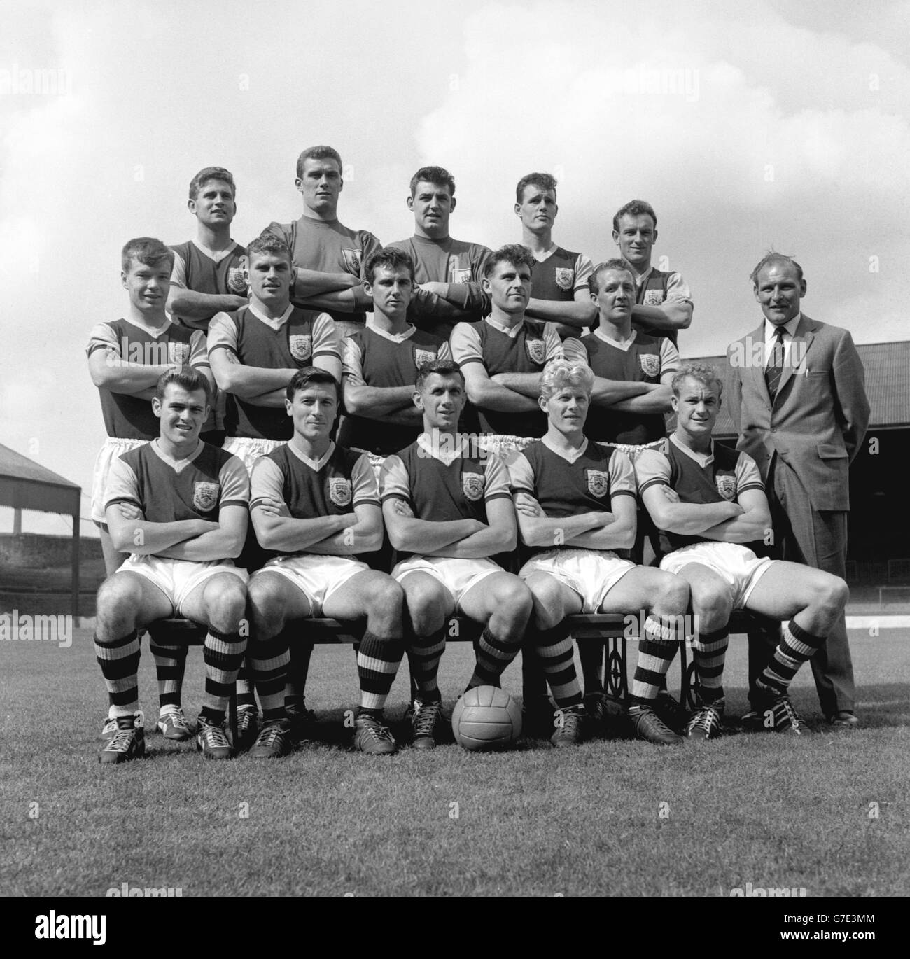 Soccer - FA Cup - Fourth Round Replay - Leyton Orient v Burnley FC - Team Photocall - Stock Image