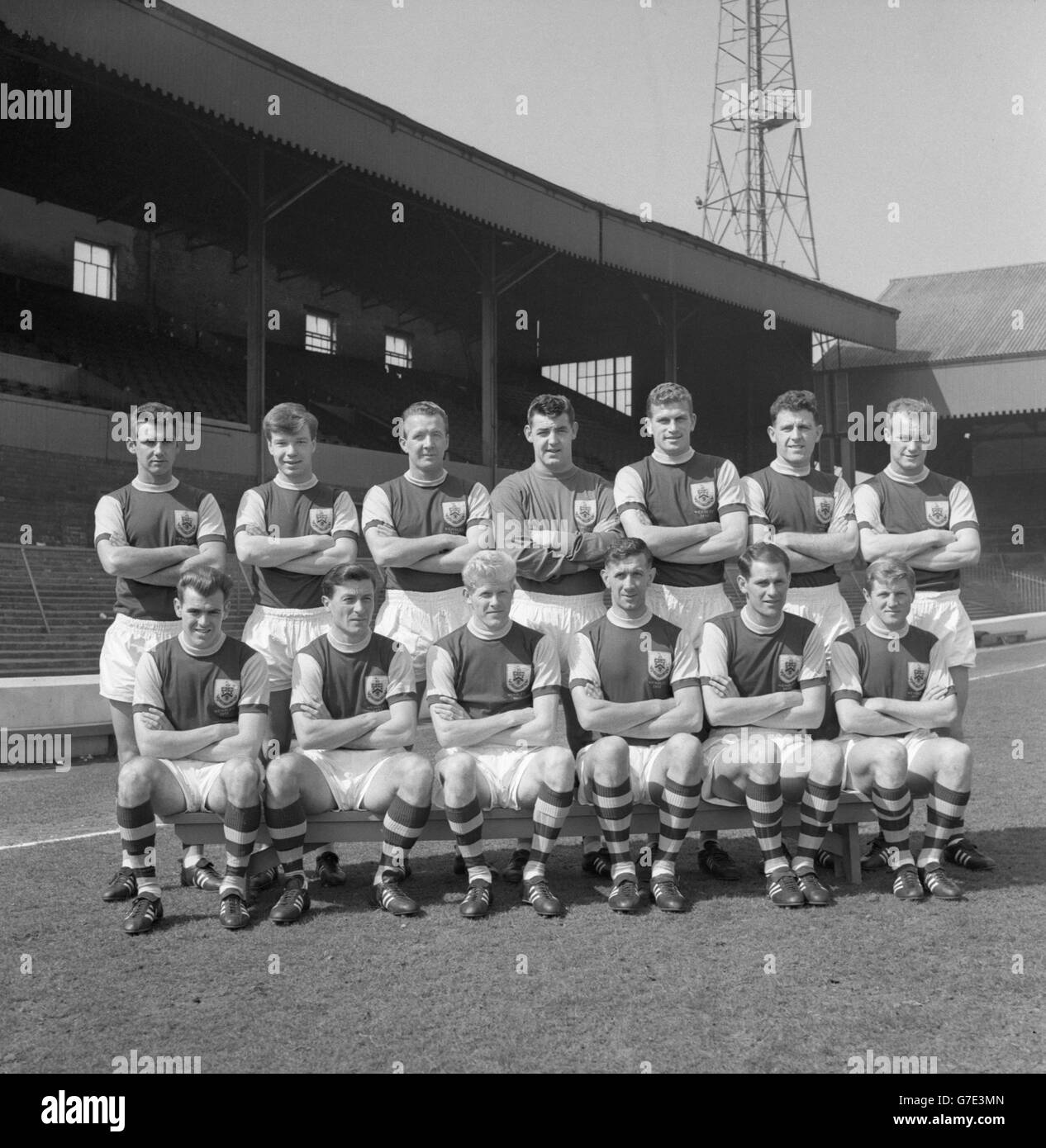 Soccer - FA Cup - Burnely FC Photocall - Stock Image