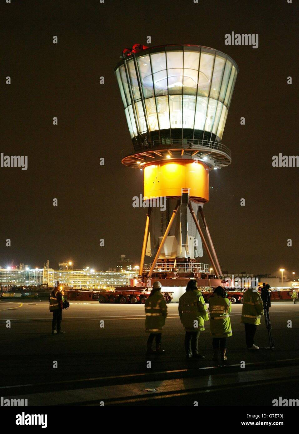 New Control Tower at Heathrow Airport - Stock Image