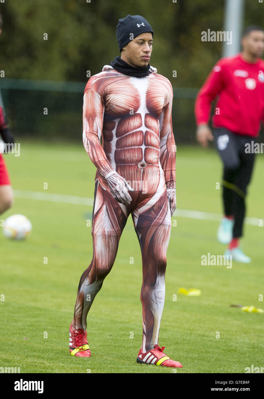 Soccer - Partick Thistle Training Session - Lochinch - Stock Image