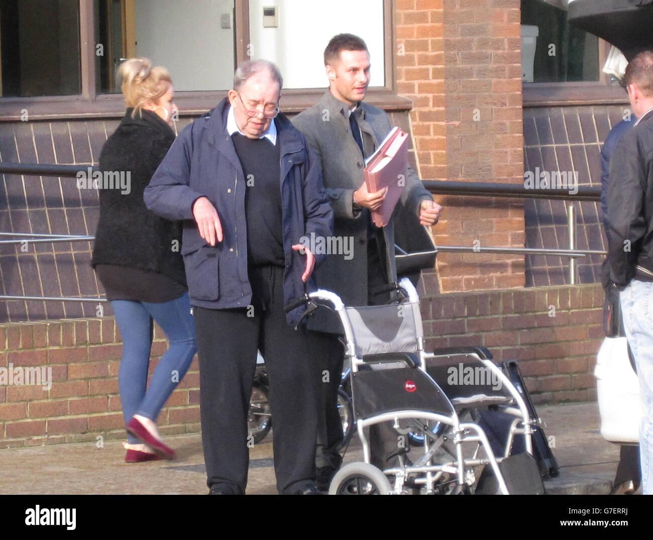 Ronald Wotton court case - Stock Image