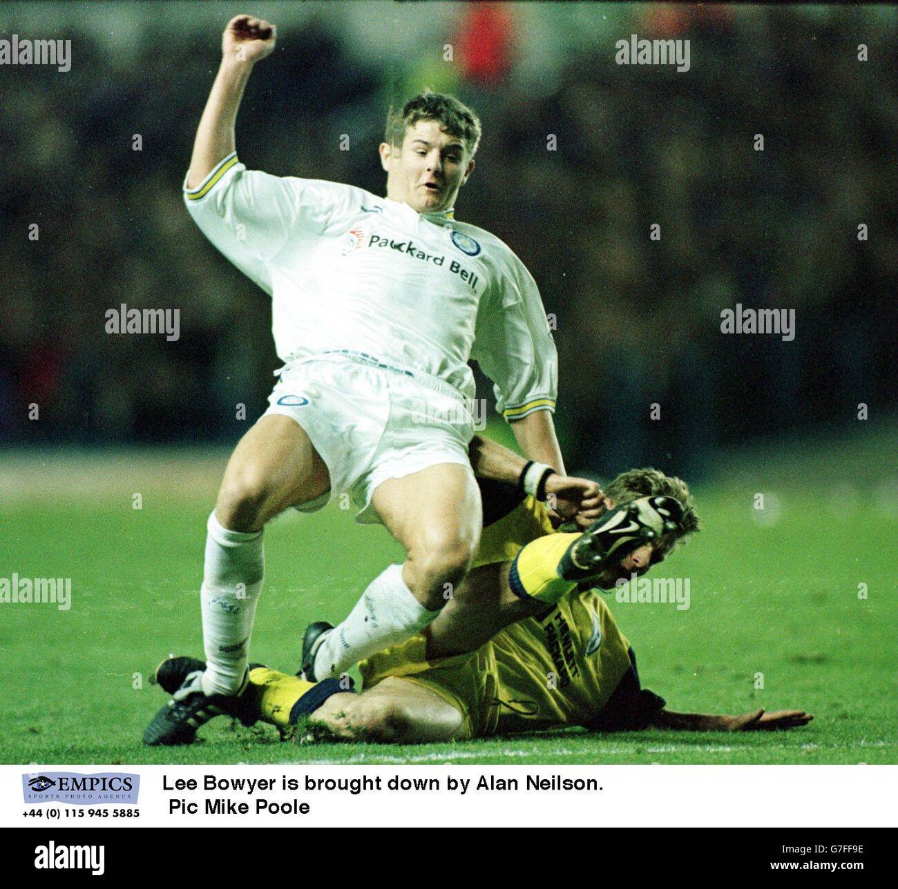 Leeds United Is Brought Down By Alan Neilson Tottenham