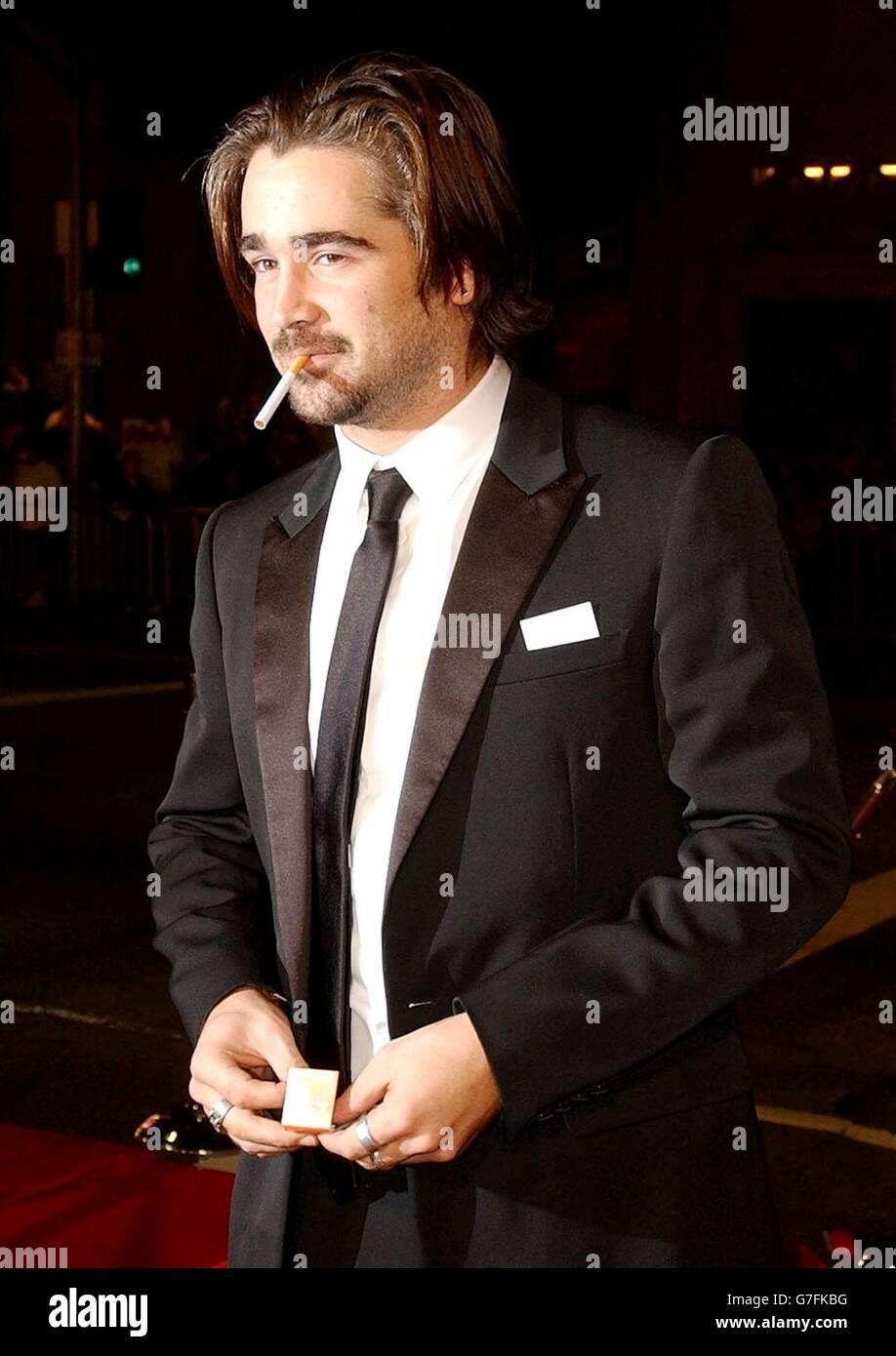 Colin Farrell Alexander Premiere Stock Photo Alamy