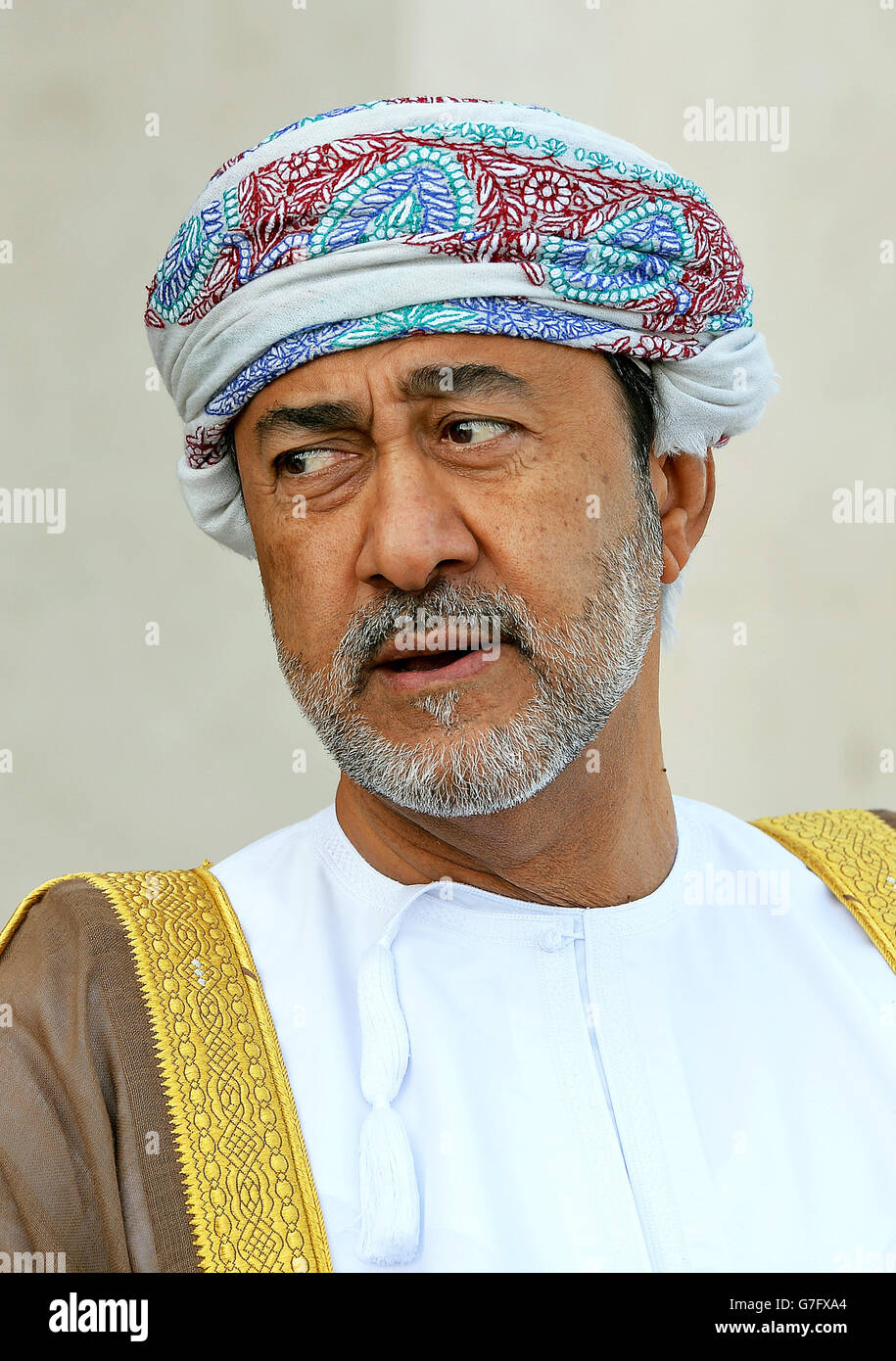 Sayyid Haitham Bin Tariq Al Stock Photos & Sayyid Haitham