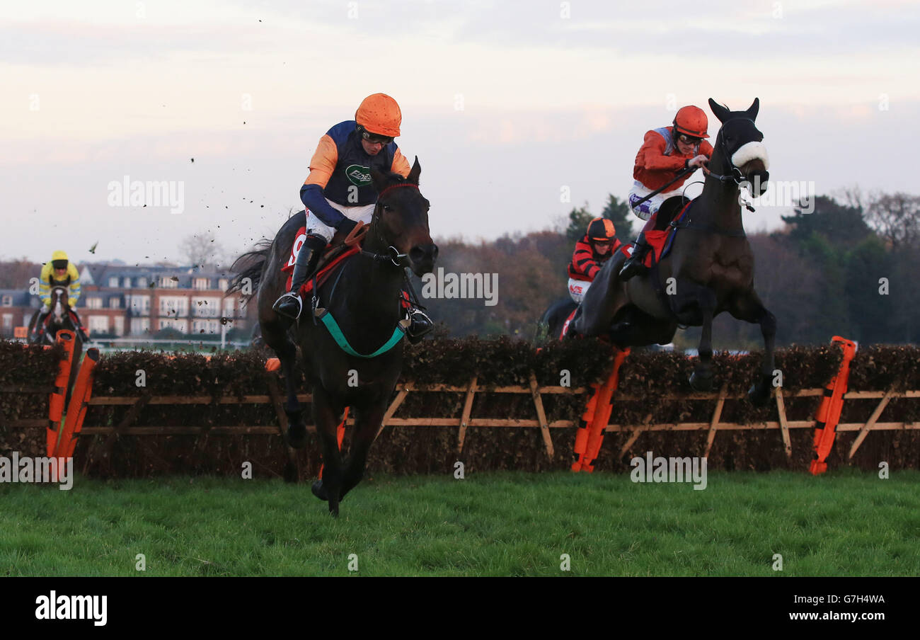 Horse Racing - Tingle Creek Christmas Festival - Sandown Park Racecourse - Stock Image