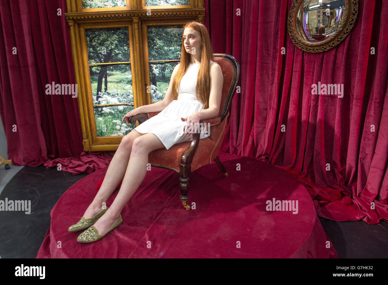 Sophie Turner Game of Thrones Actor - Stock Image