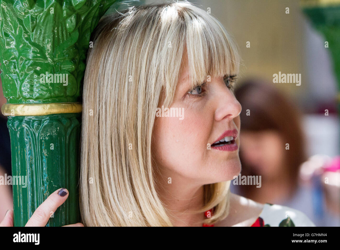 Ashley Jensen Scottish Actress - Stock Image