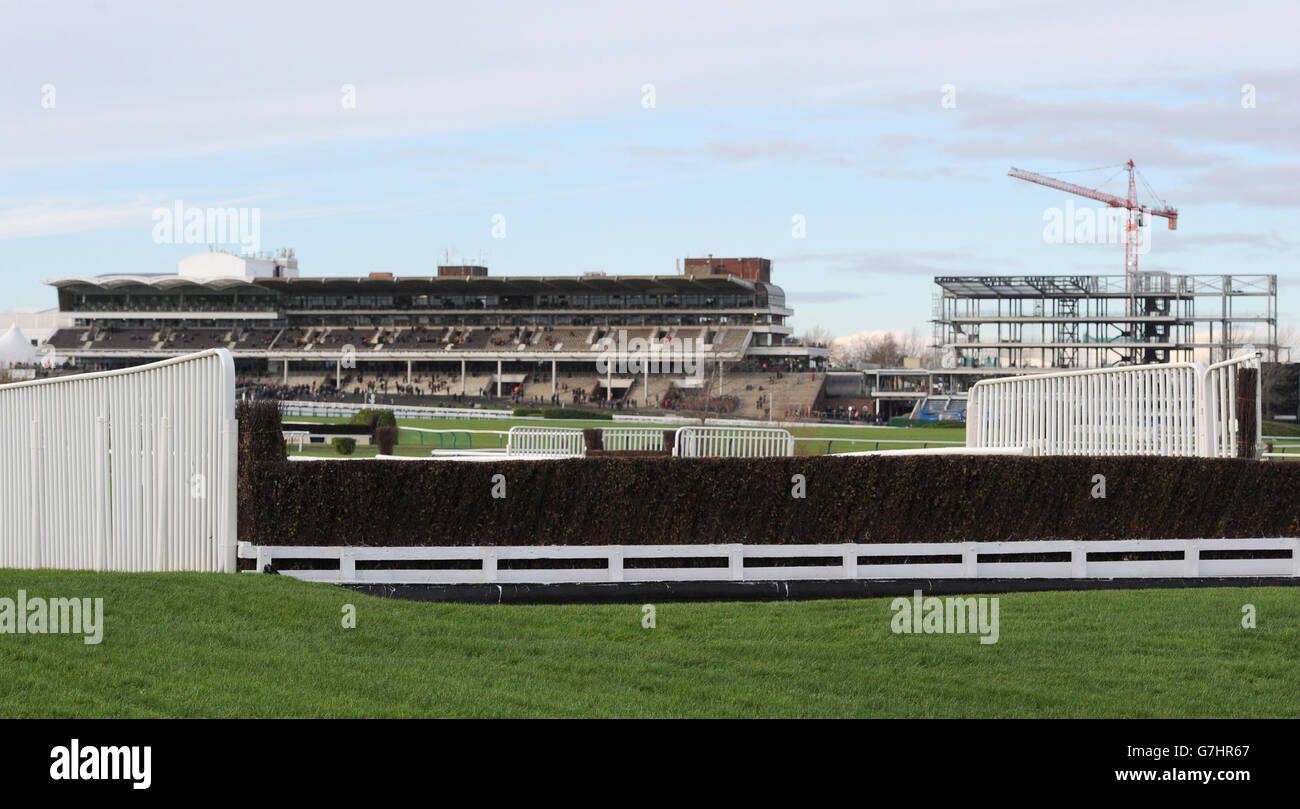 Horse Racing - The International - Day One - Cheltenham Racecourse Stock Photo