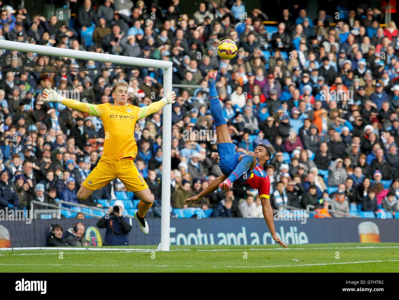 Soccer - Barclays Premier League - Manchester City v Crystal Palace - Etihad Stadium - Stock Image