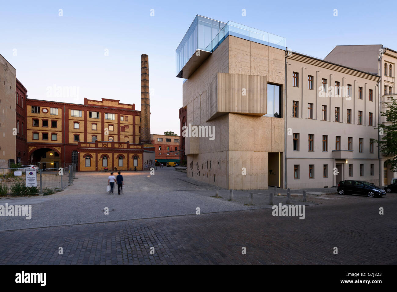 Berlin. Germany. The Tchoban Foundation Museum for Architectural Drawing. - Stock Image