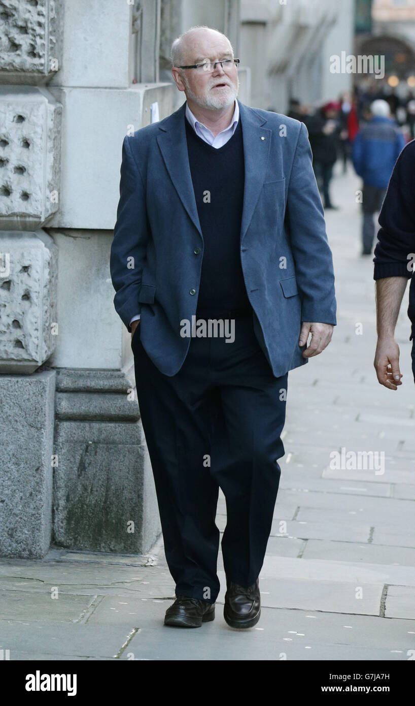 Tom Henderson court case - Stock Image