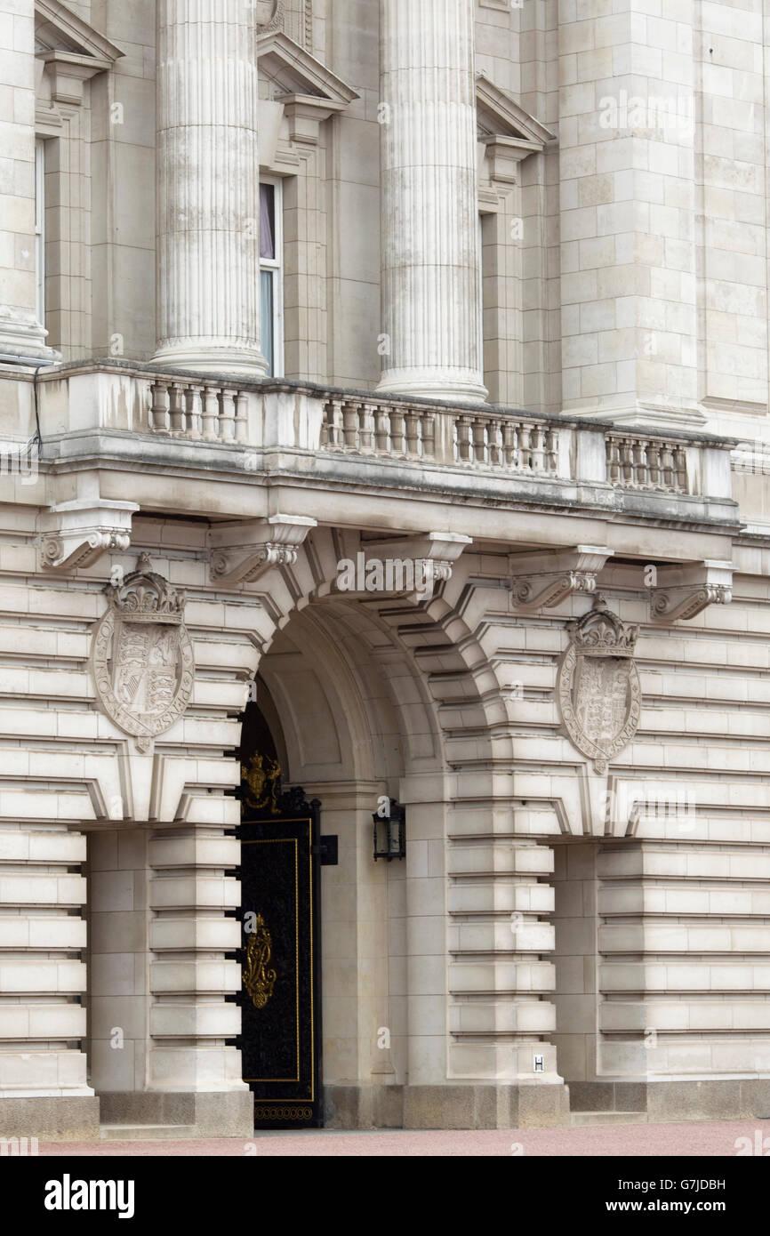 Buckingham Palace, London, England, UK - Stock Image