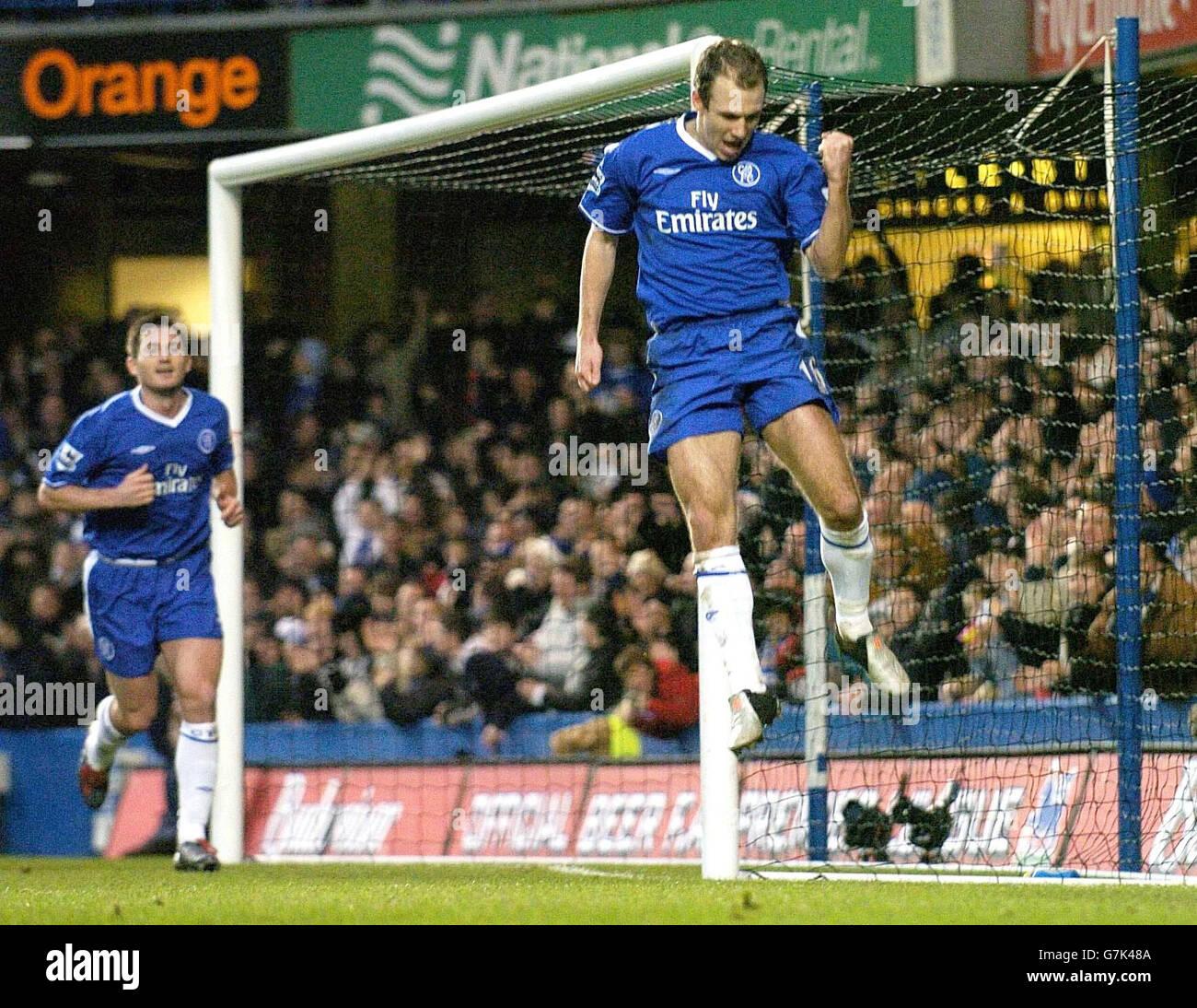 Chelsea v Norwich City - Stamford Bridge - Stock Image