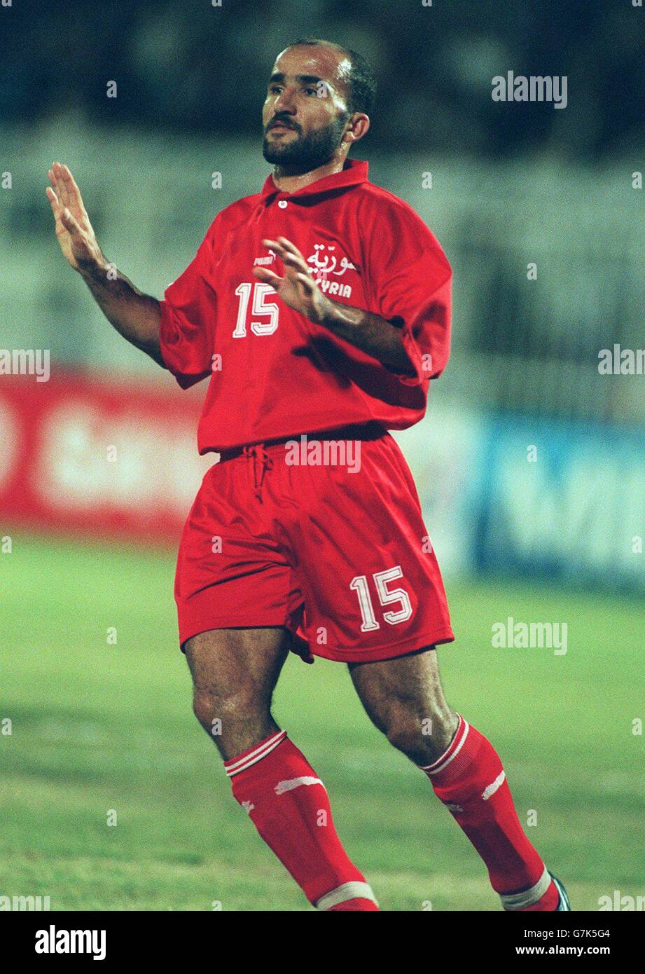 International Soccer - Asia 96 - Uzbekistan v Syria Stock Photo ... ca8379f0a