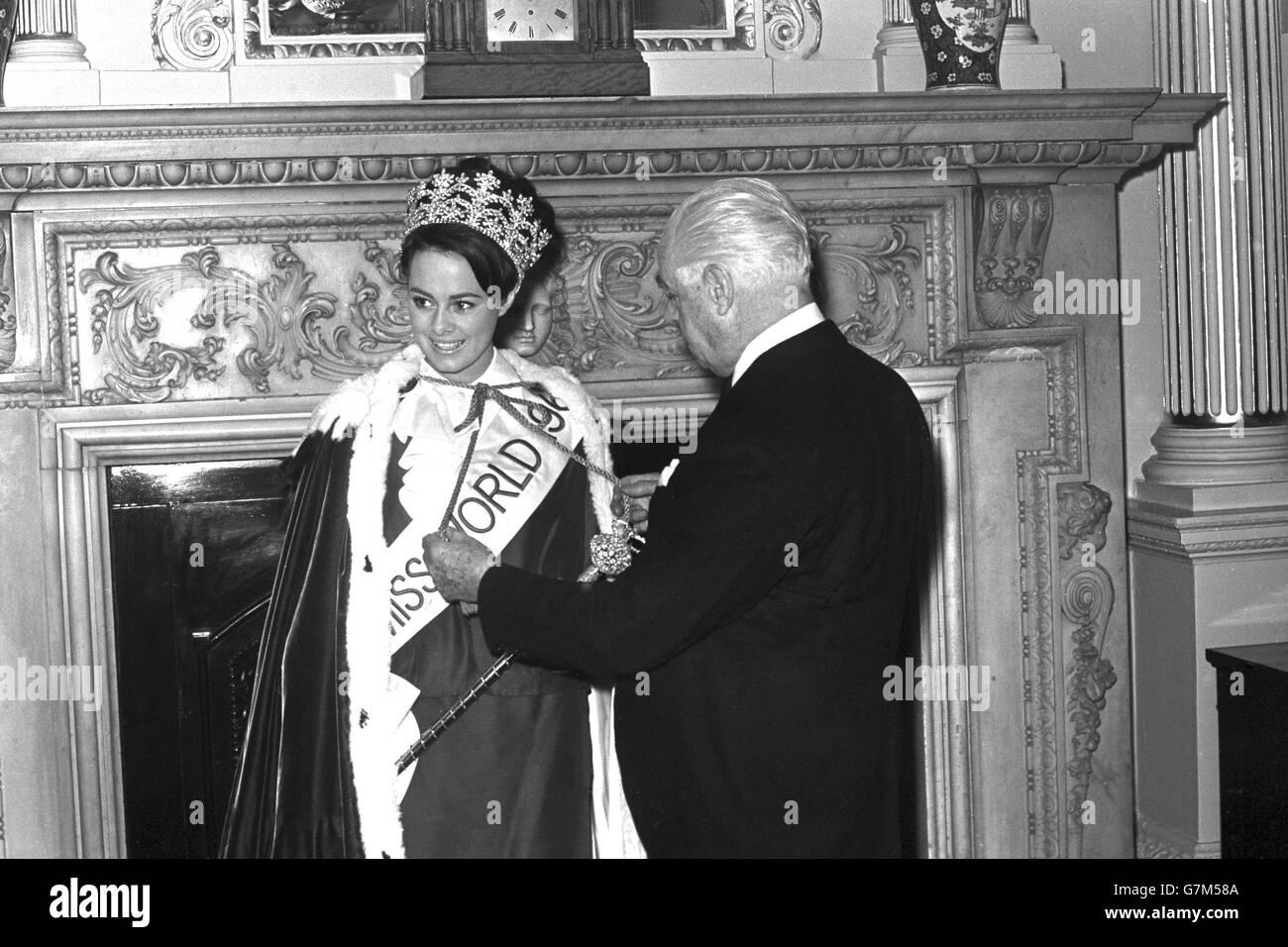 Miss World 1964 - Mansion House, London - Stock Image