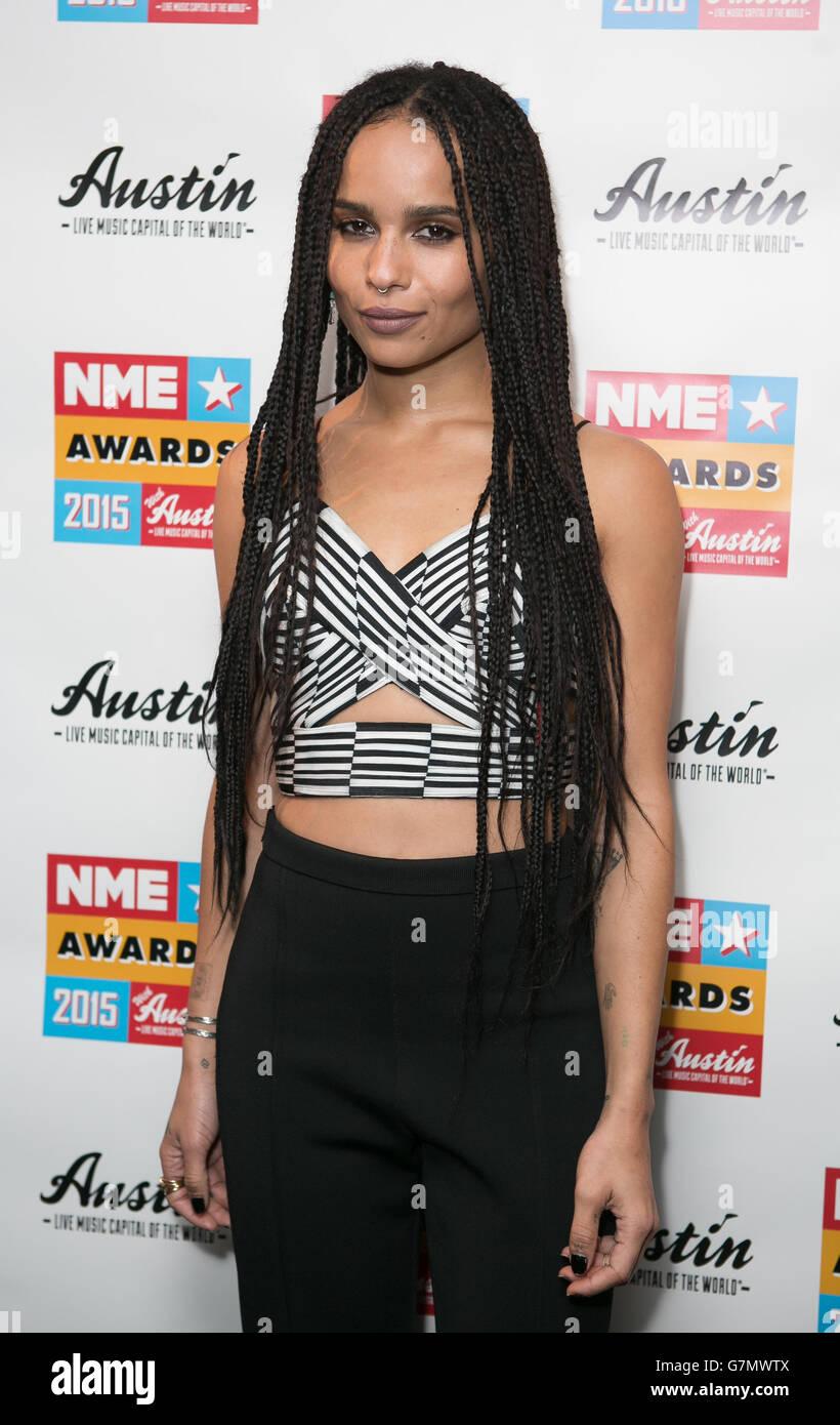 NME Awards 2015 with Austin Texas - London Stock Photo
