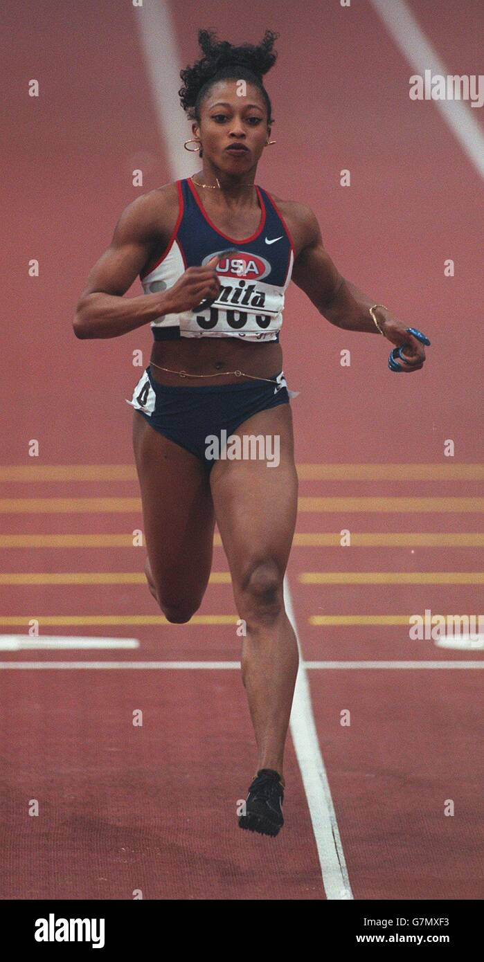 Athletics - 6th IAAF World Indoor Championship - Stock Image