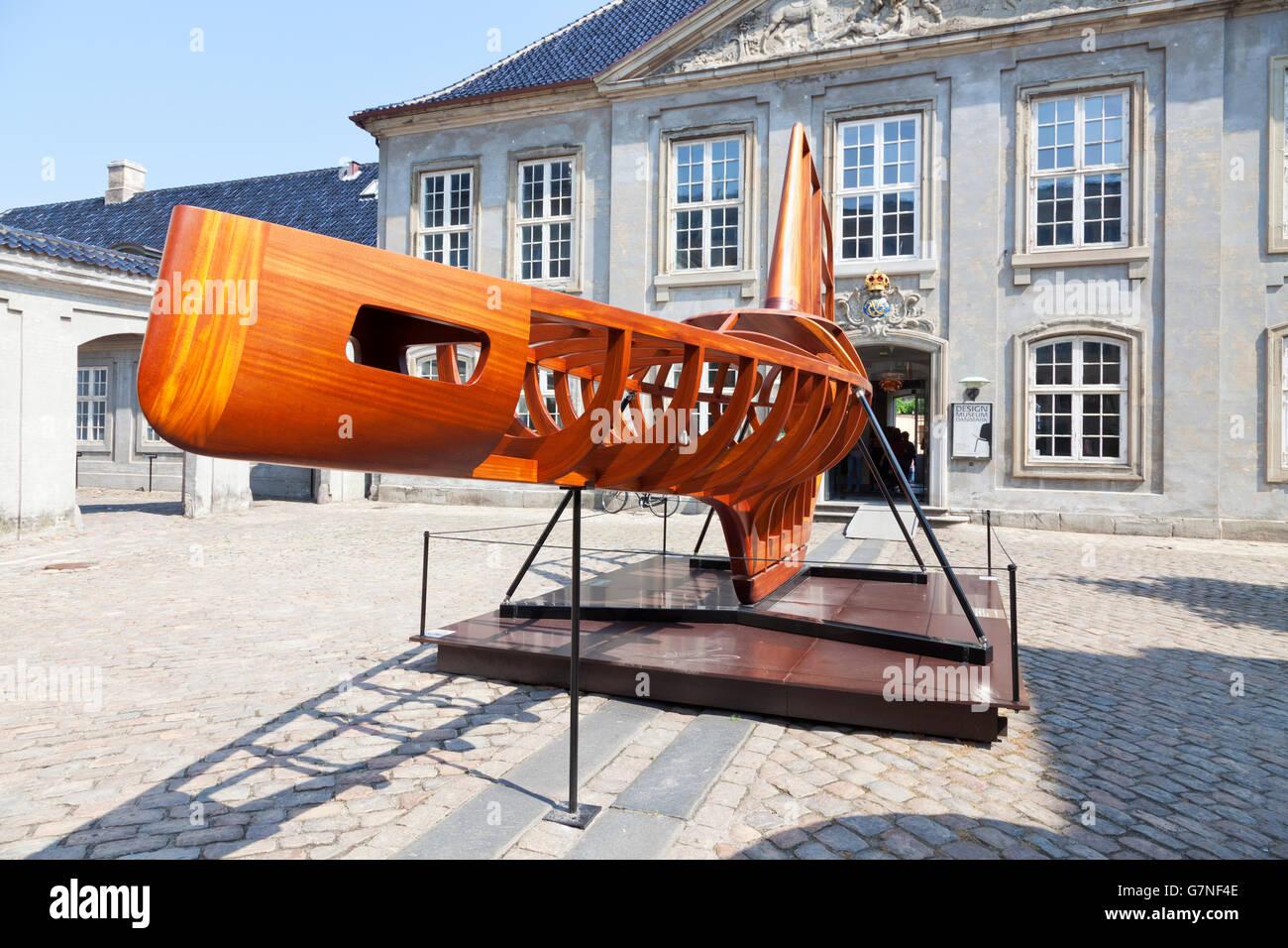 The Spheres exhibition at the Design Museum in Copenhagen, Designmuseum Danmark, - Stock Image