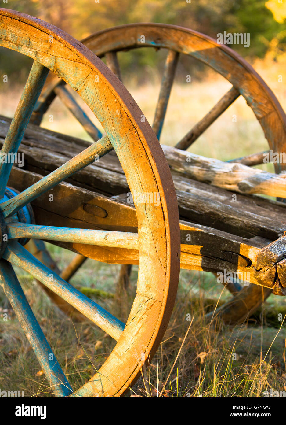 Painted Wagon Stock Photos & Painted Wagon Stock Images - Alamy
