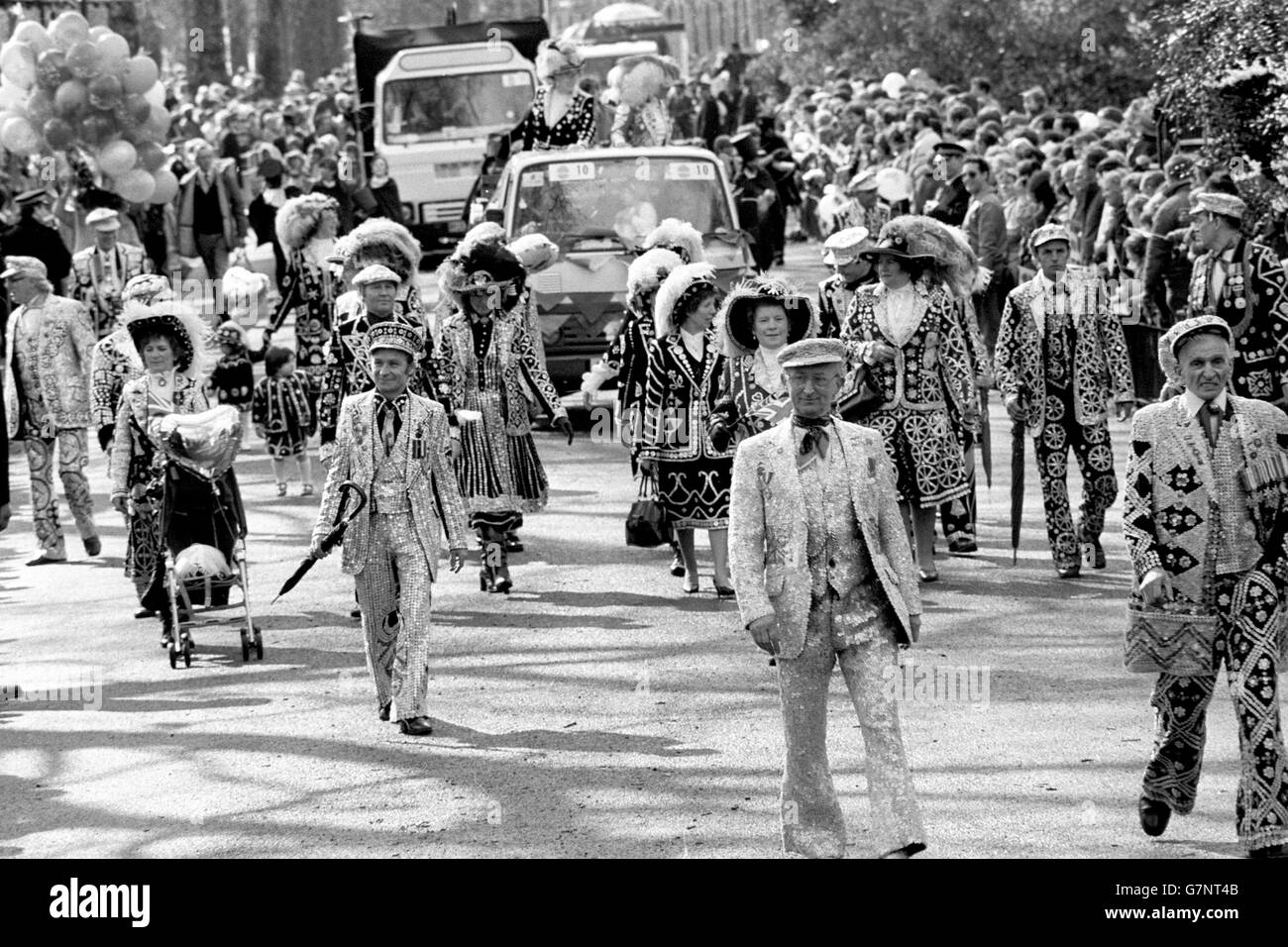 Customs and Traditions - GLC Easter Parade - Battersea Park, London - Stock Image