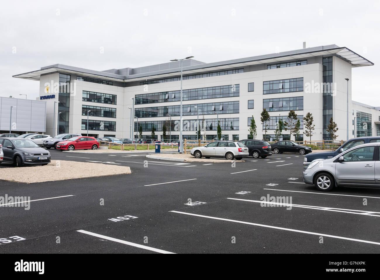 Ryanair Ltd Corporate Head Office building. Airside Business Park, Swords, Co. Dublin,Ireland - Stock Image