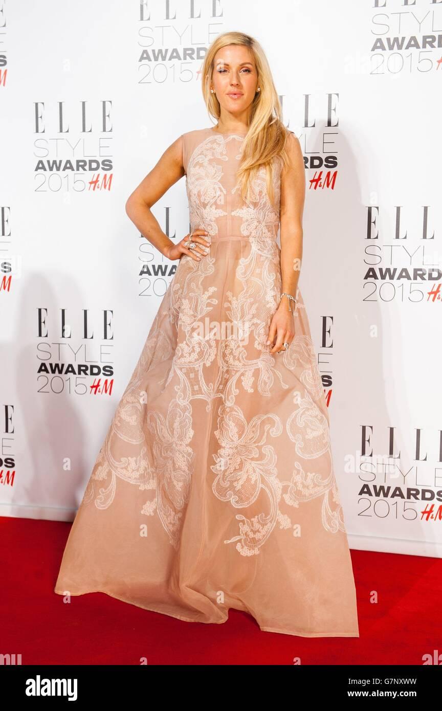 Elle Style Awards 2015 - London - Stock Image