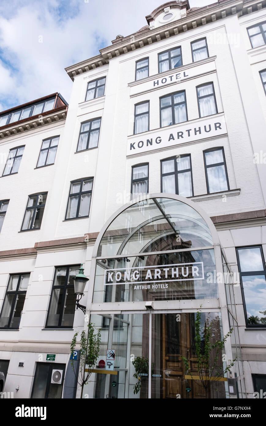 Hotel Kong Arthur, Copenhagen, Denmark - Stock Image