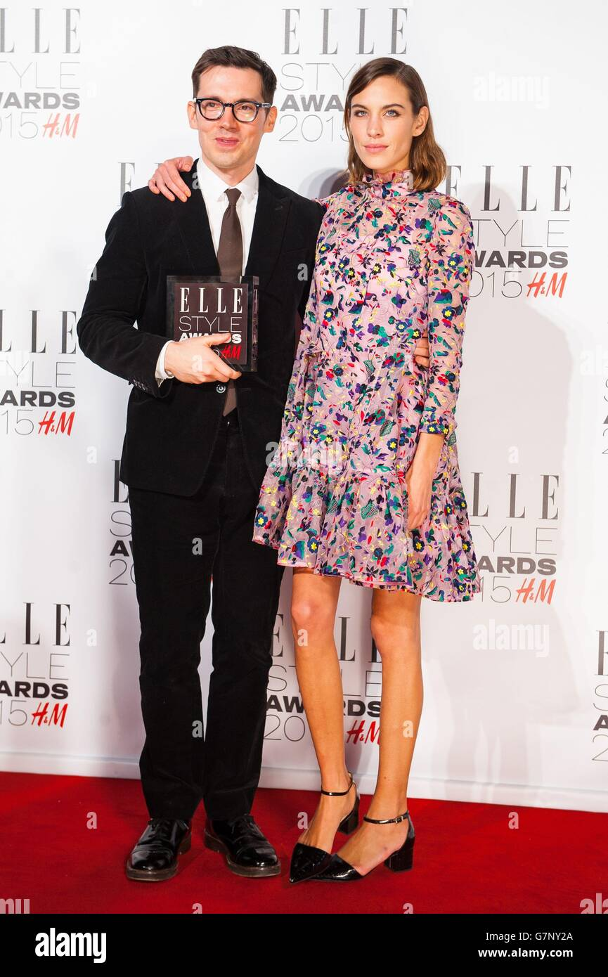 Elle Style Awards 2015 - London - Stock Image