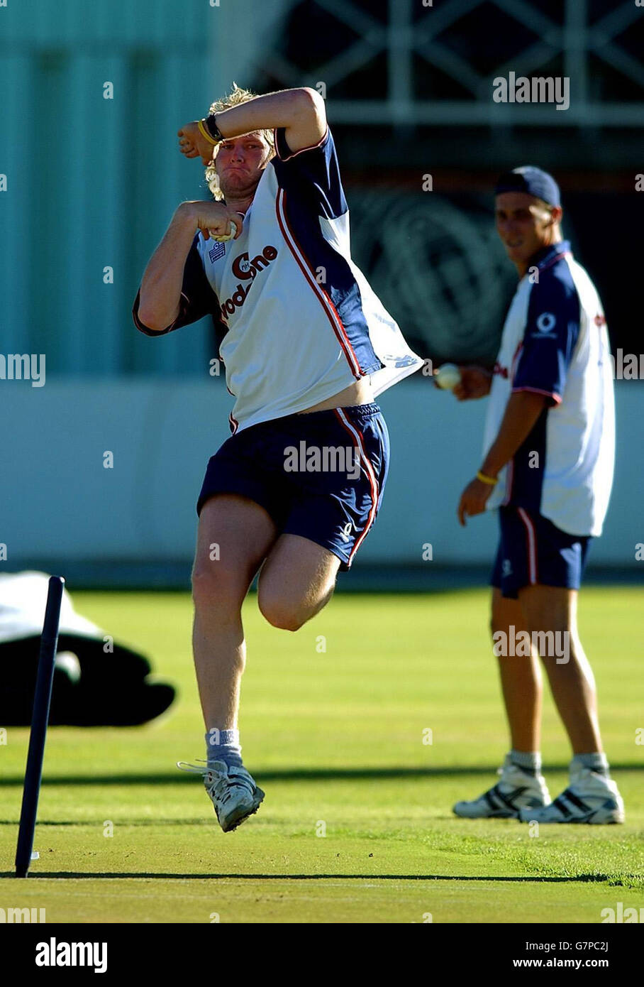 England net session - De Beers Oval - Stock Image
