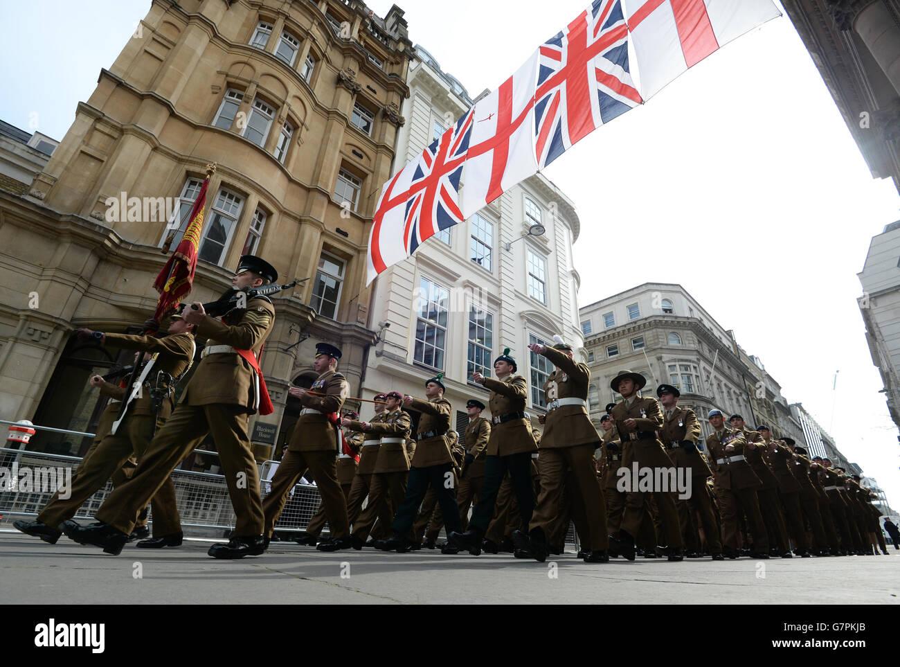 Afghanistan war commemorations - Stock Image