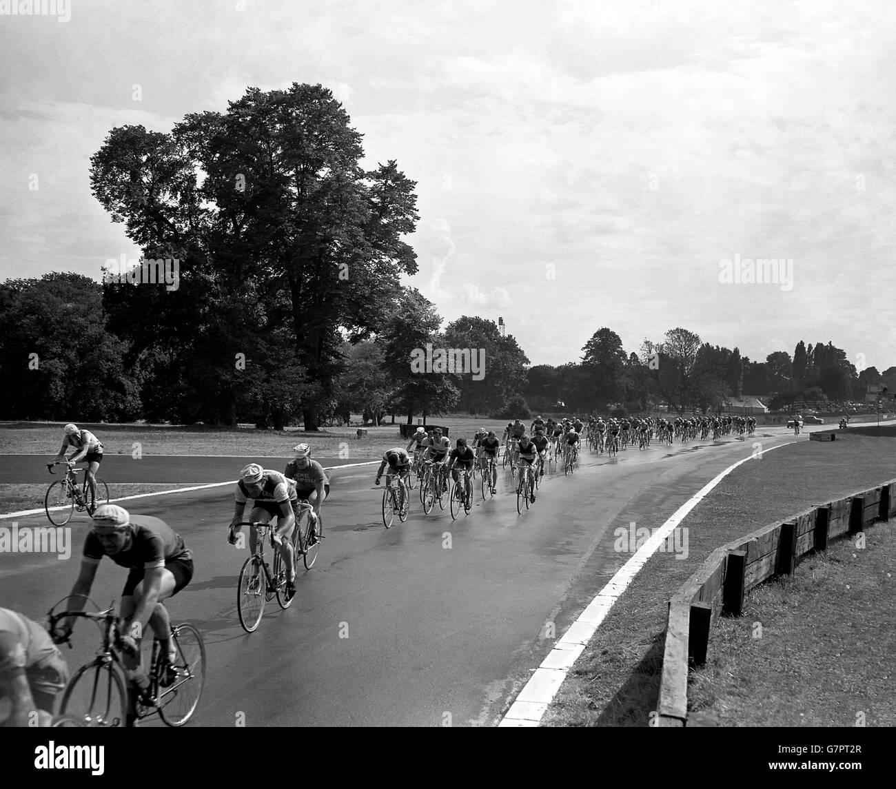 Cycling - The Mackeson Cycle Meeting - Crystal Palace, London - Stock Image