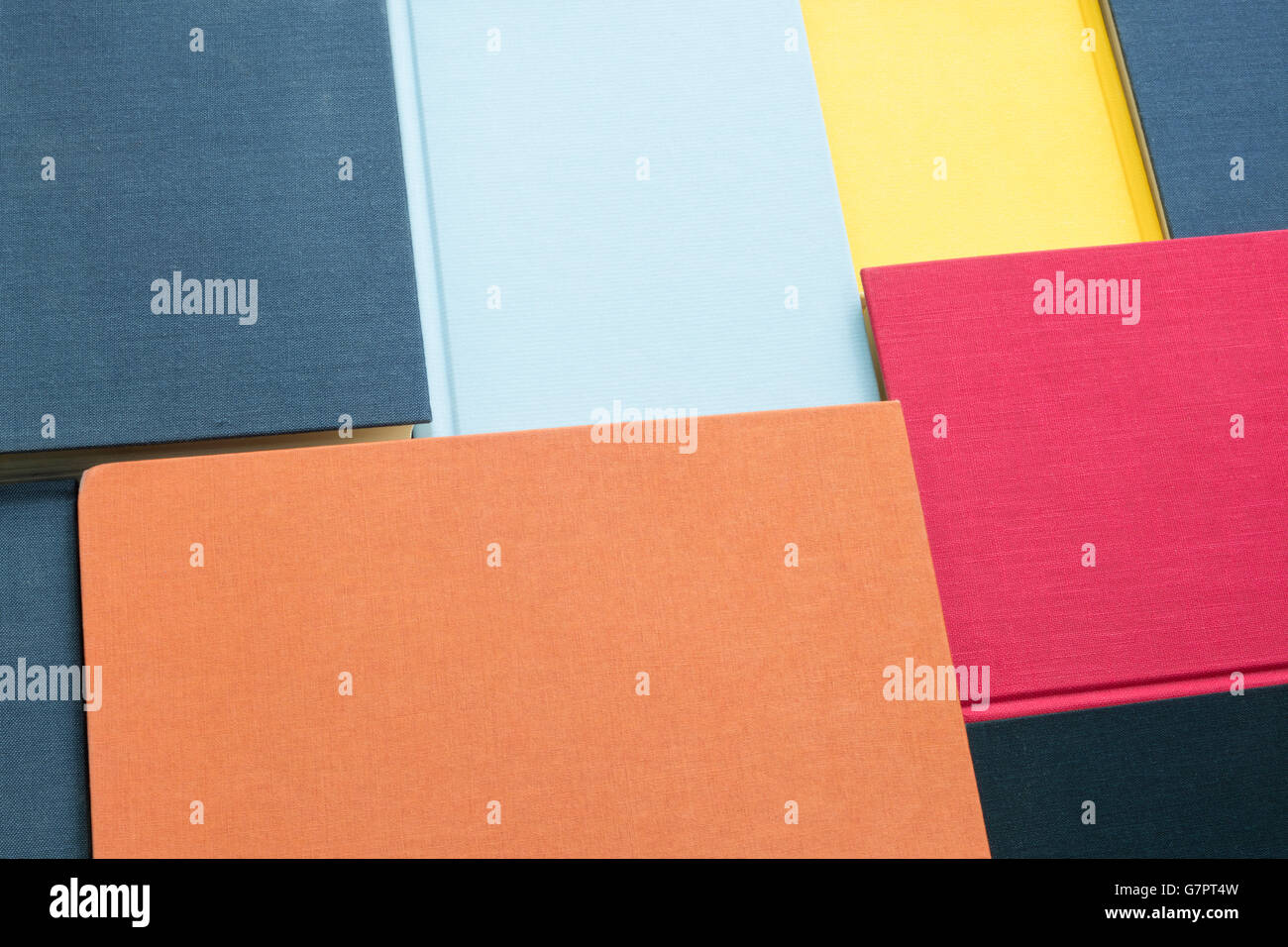 Background of colorful book covers Stock Photo: 108066697 - Alamy