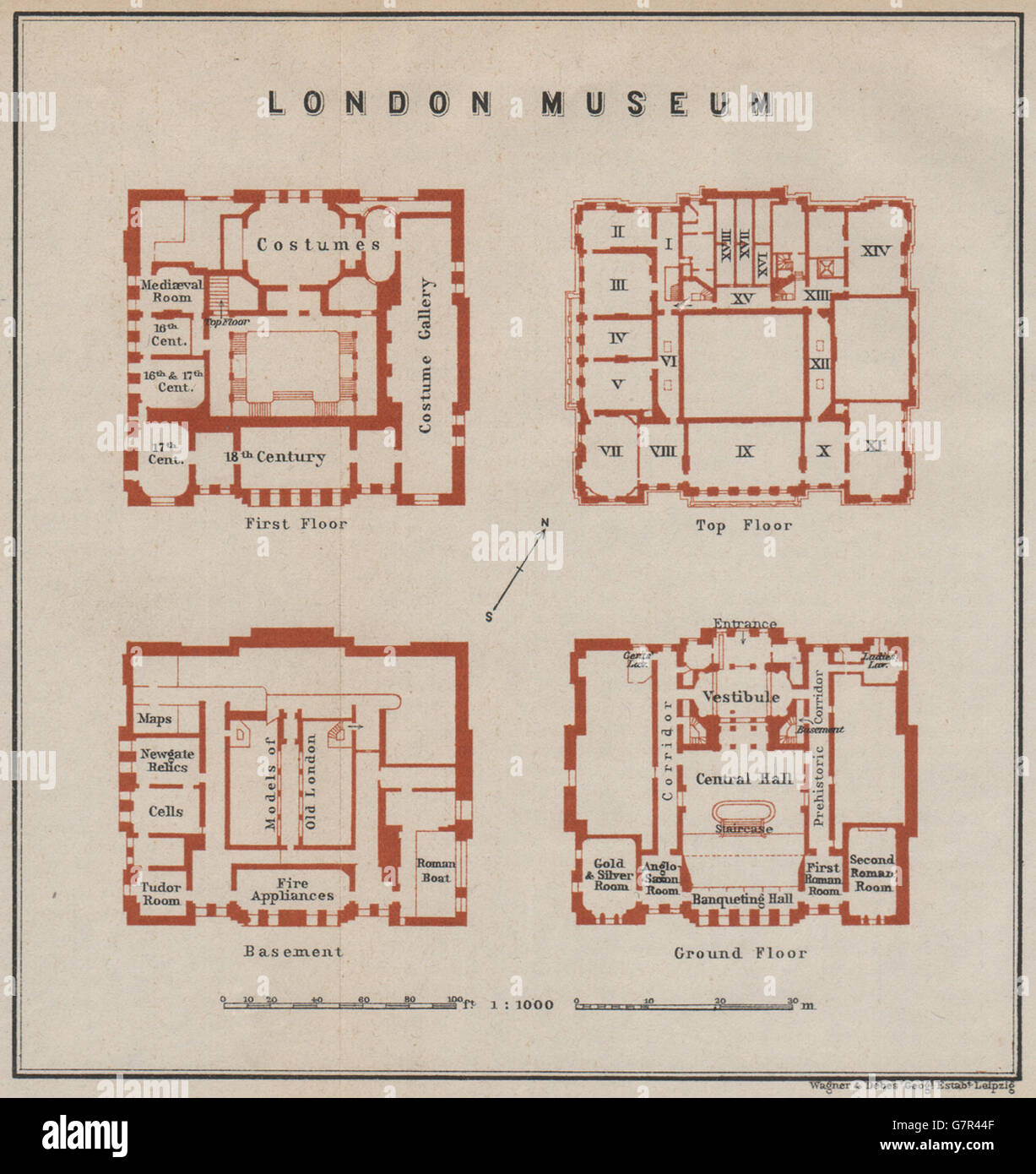 LONDON MUSEUM floor plan. Lancaster House, St James's.Museum ... on old victorian house floor plans, 19th century mansion floor plans, 18 century victorian house plans,