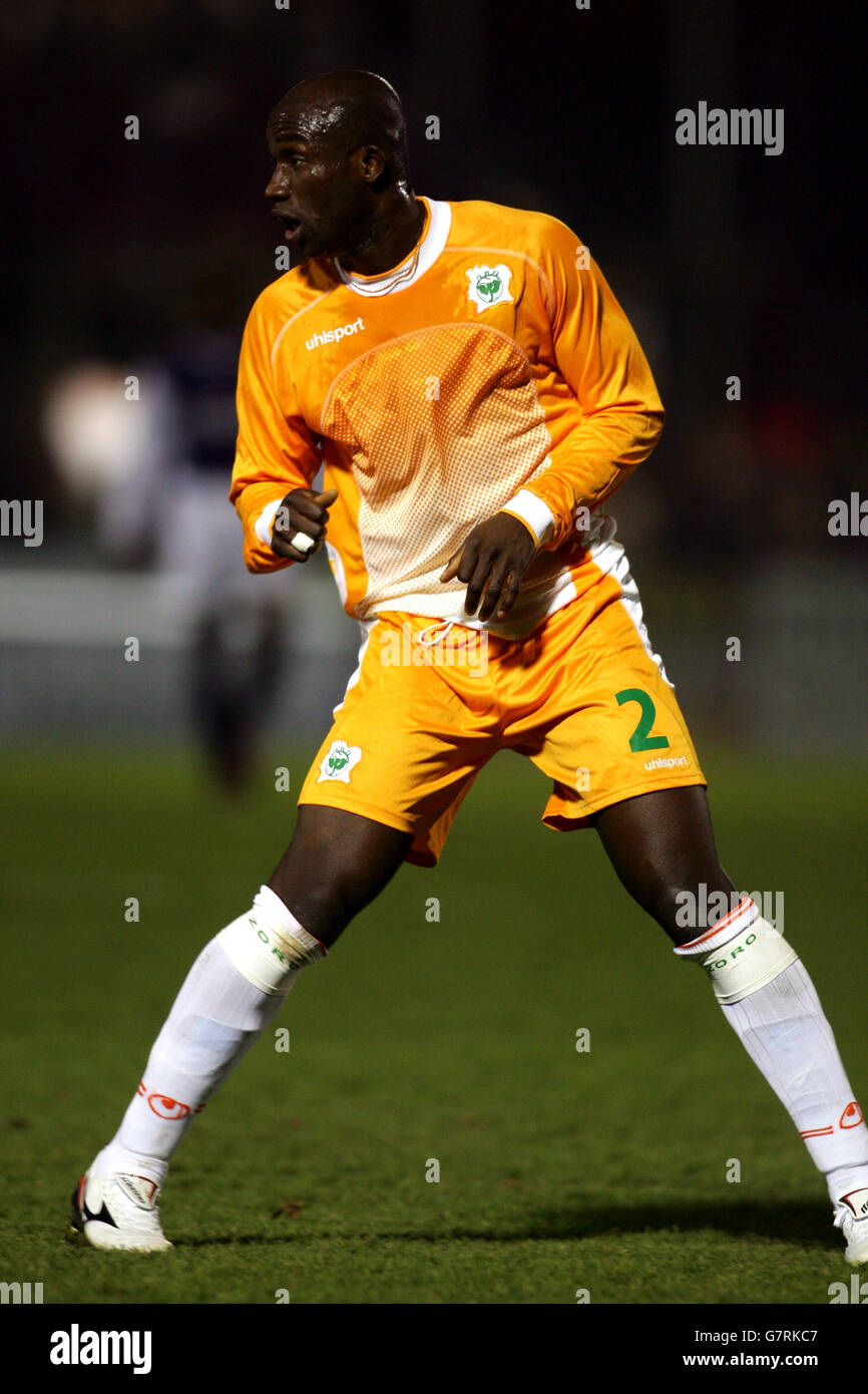 Soccer - International Friendly - Ivory Coast v DR Congo - Stade Robert Diochon - Stock Image