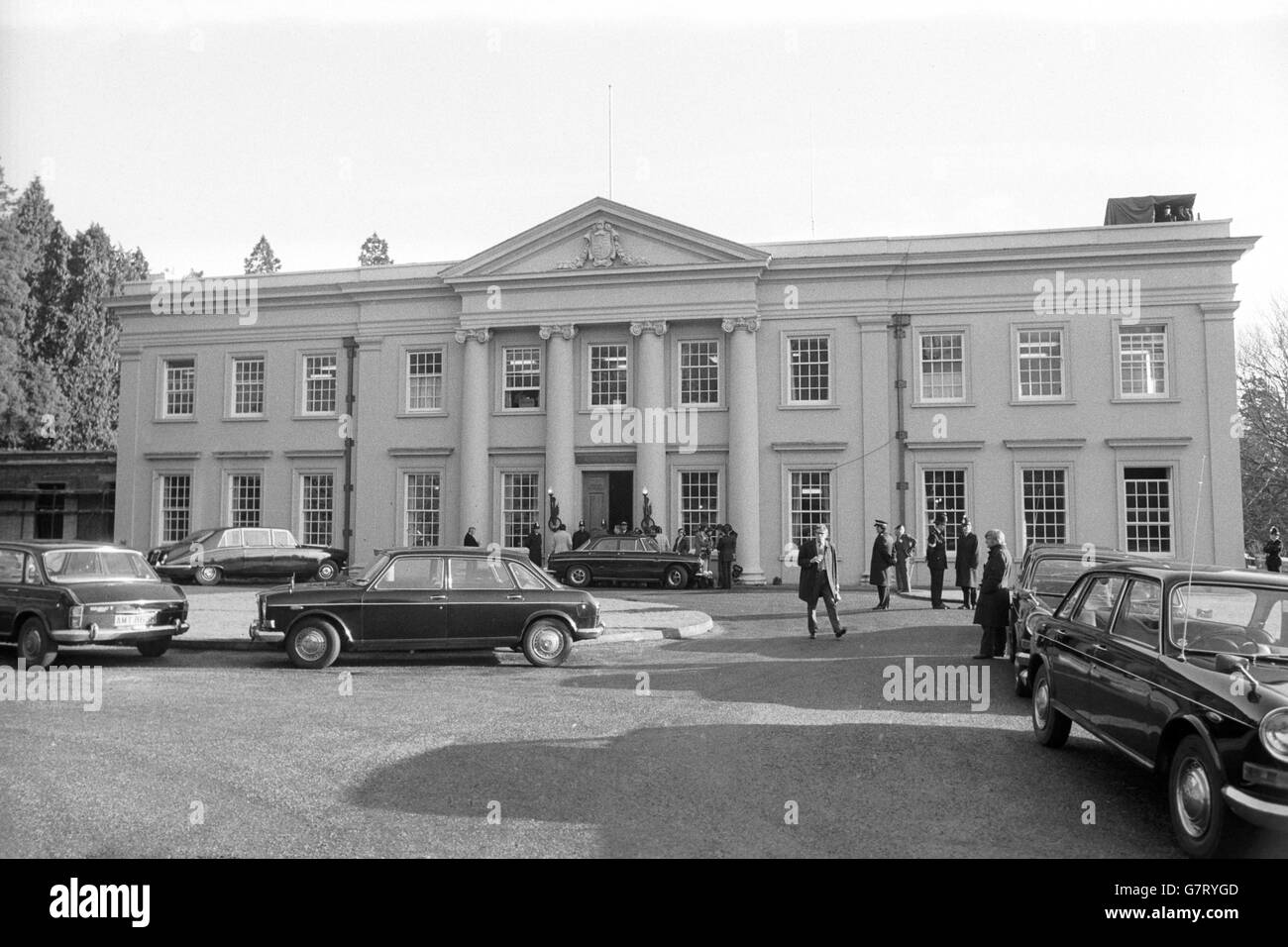 Police Service Of Northern Ireland Black And White Stock Photos