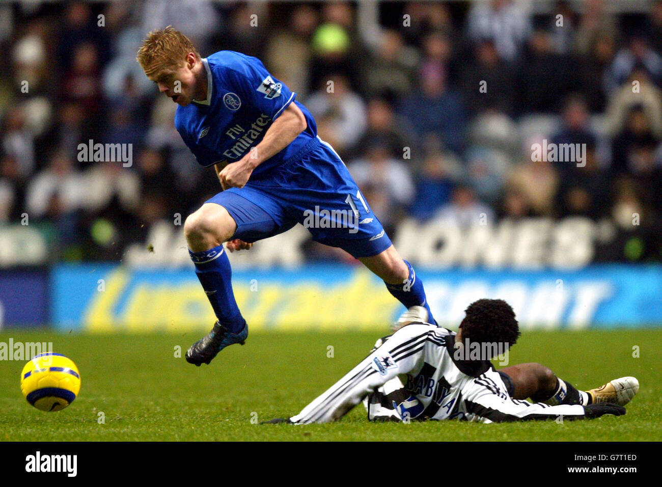 Soccer - FA Cup - Fifth Round - Newcastle United v Chelsea - St James' Park - Stock Image