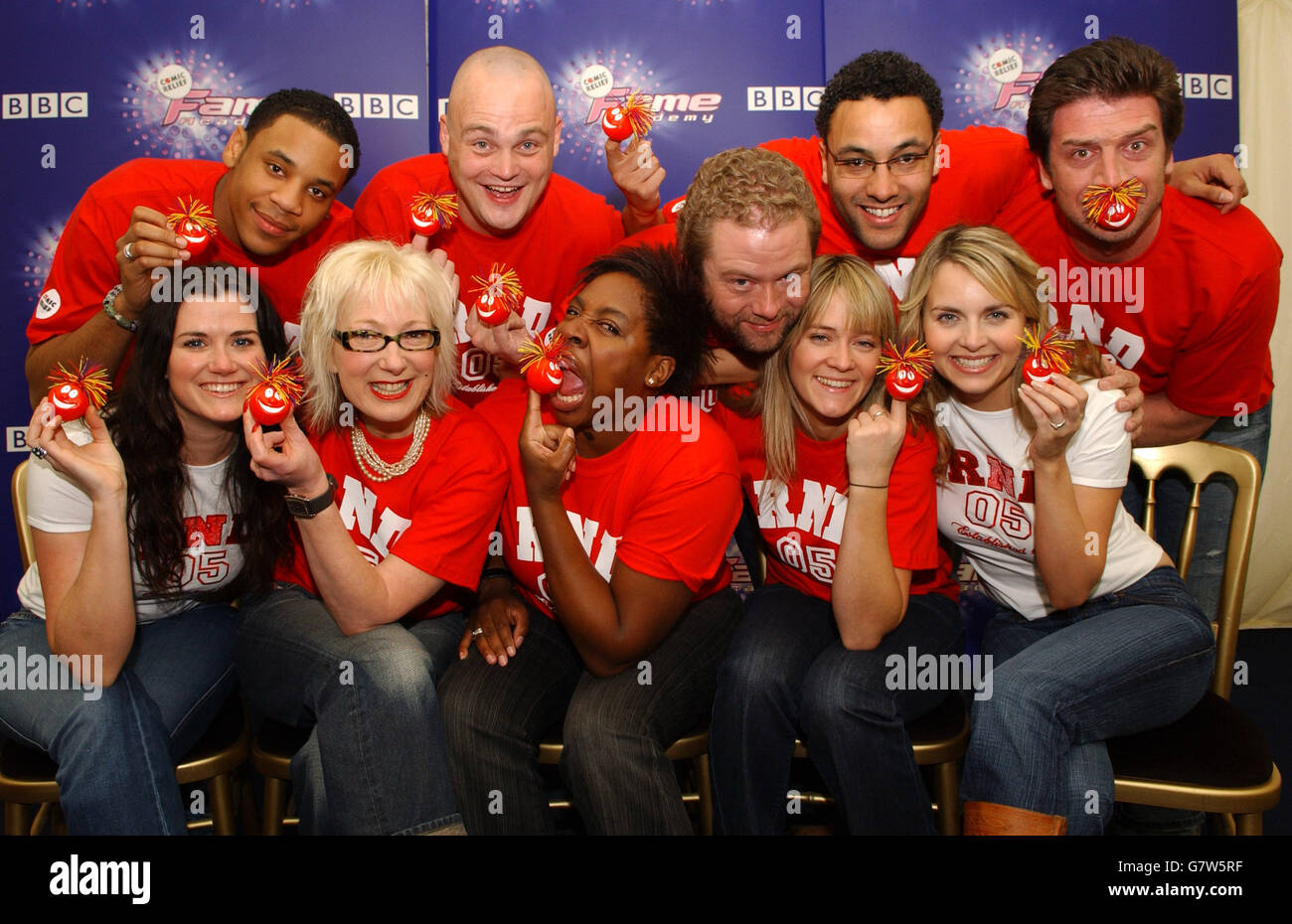 BBC One's Comic Relief Fame Academy - Fame Academy House, Lambeth College - Stock Image