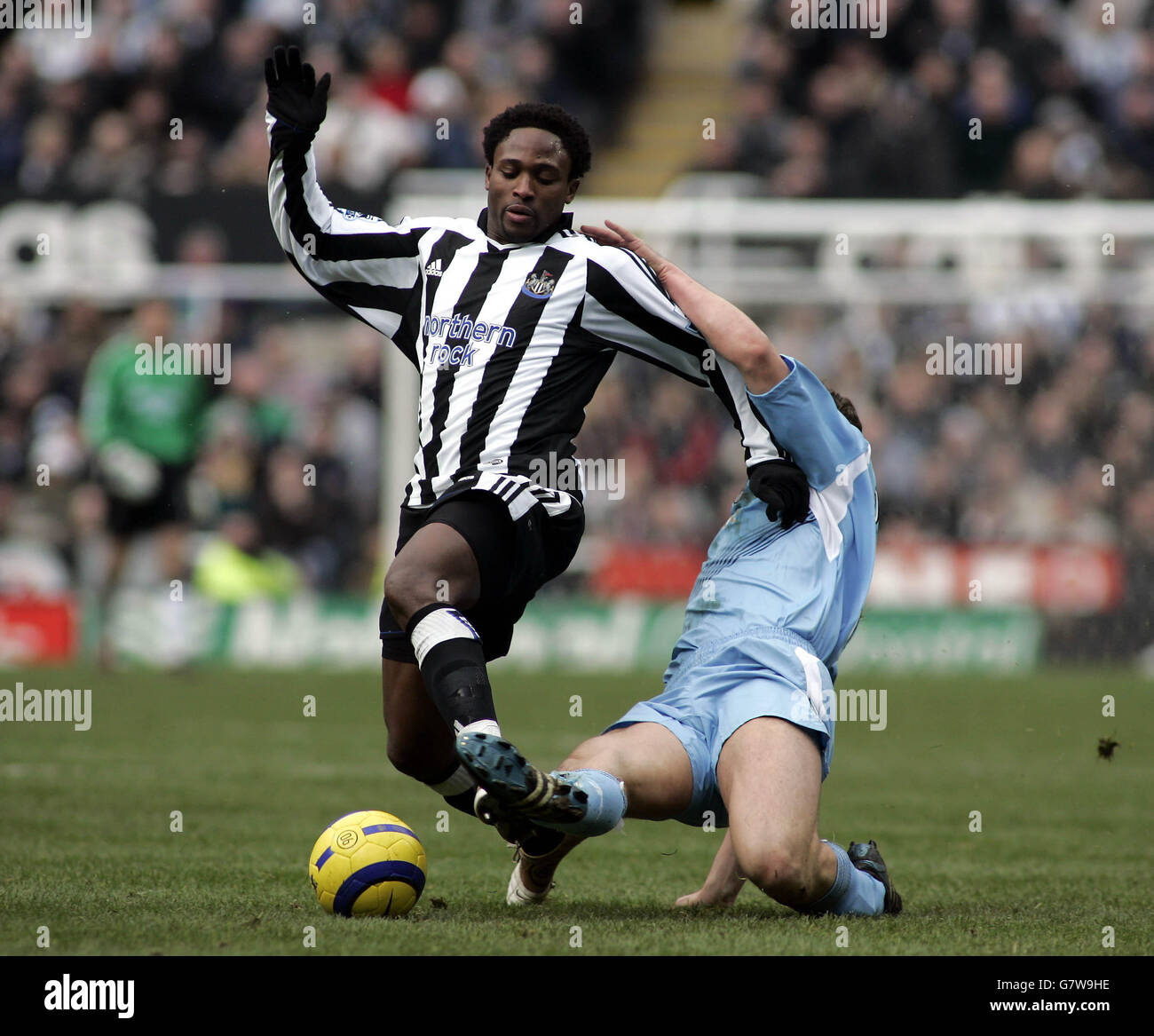 Soccer - FA Barclays Premiership - Newcastle United v Bolton Wanderers - St James' Park - Stock Image