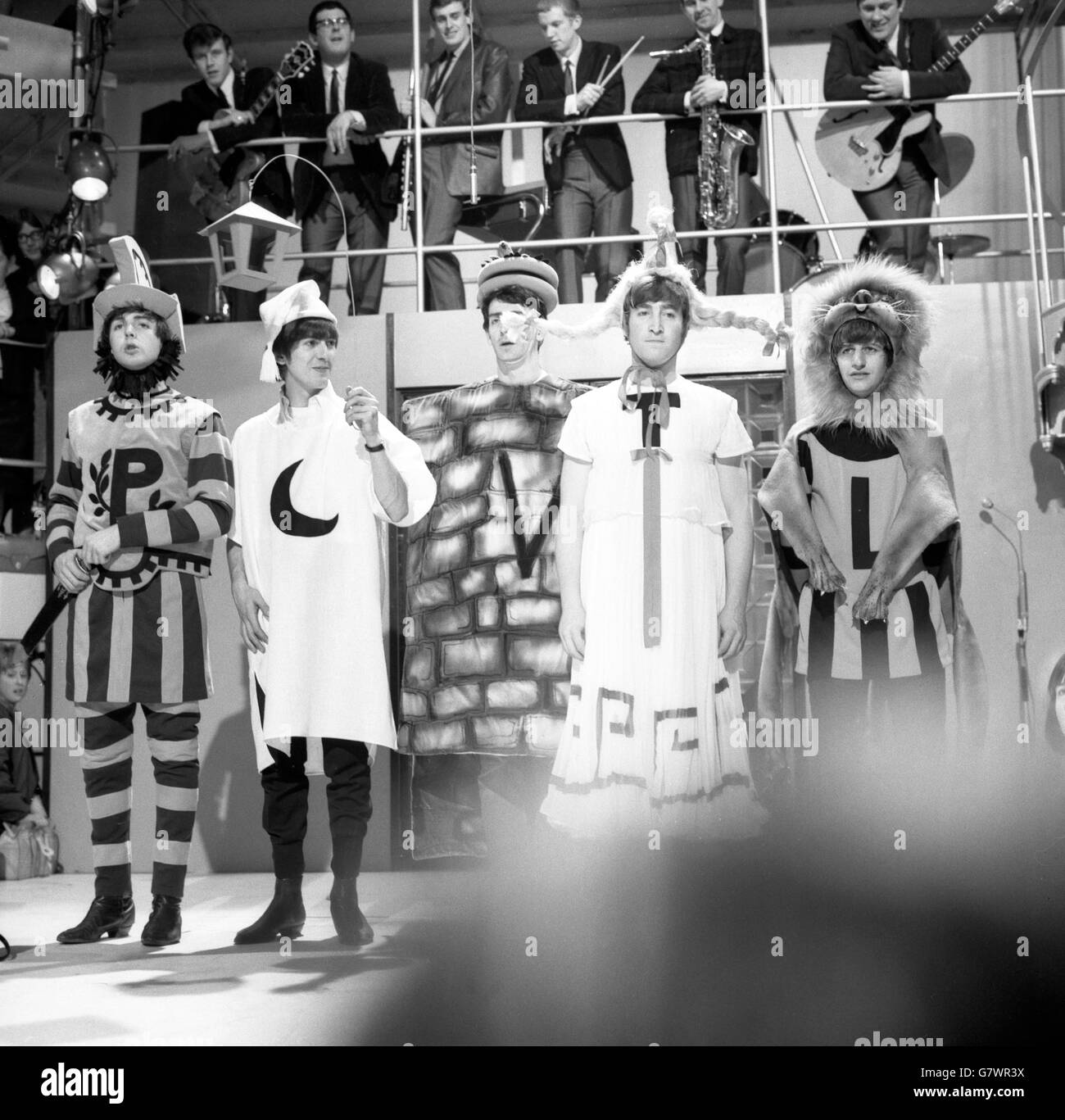 Music - The Beatles - Around the Beatles Television Show - Wembley Studio, London - Stock Image