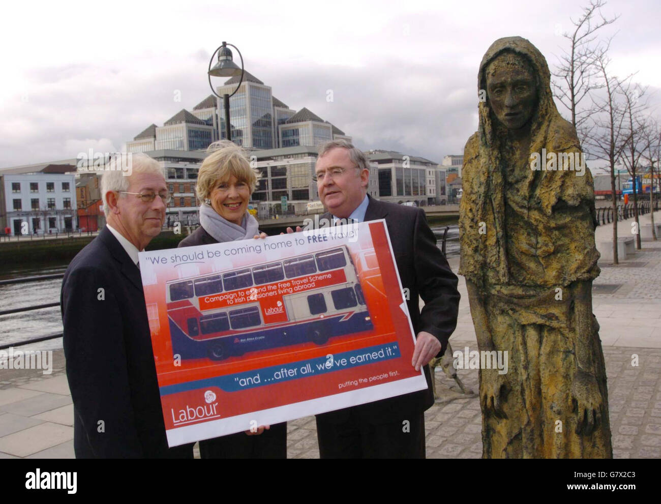 free travel in ireland for pensioners
