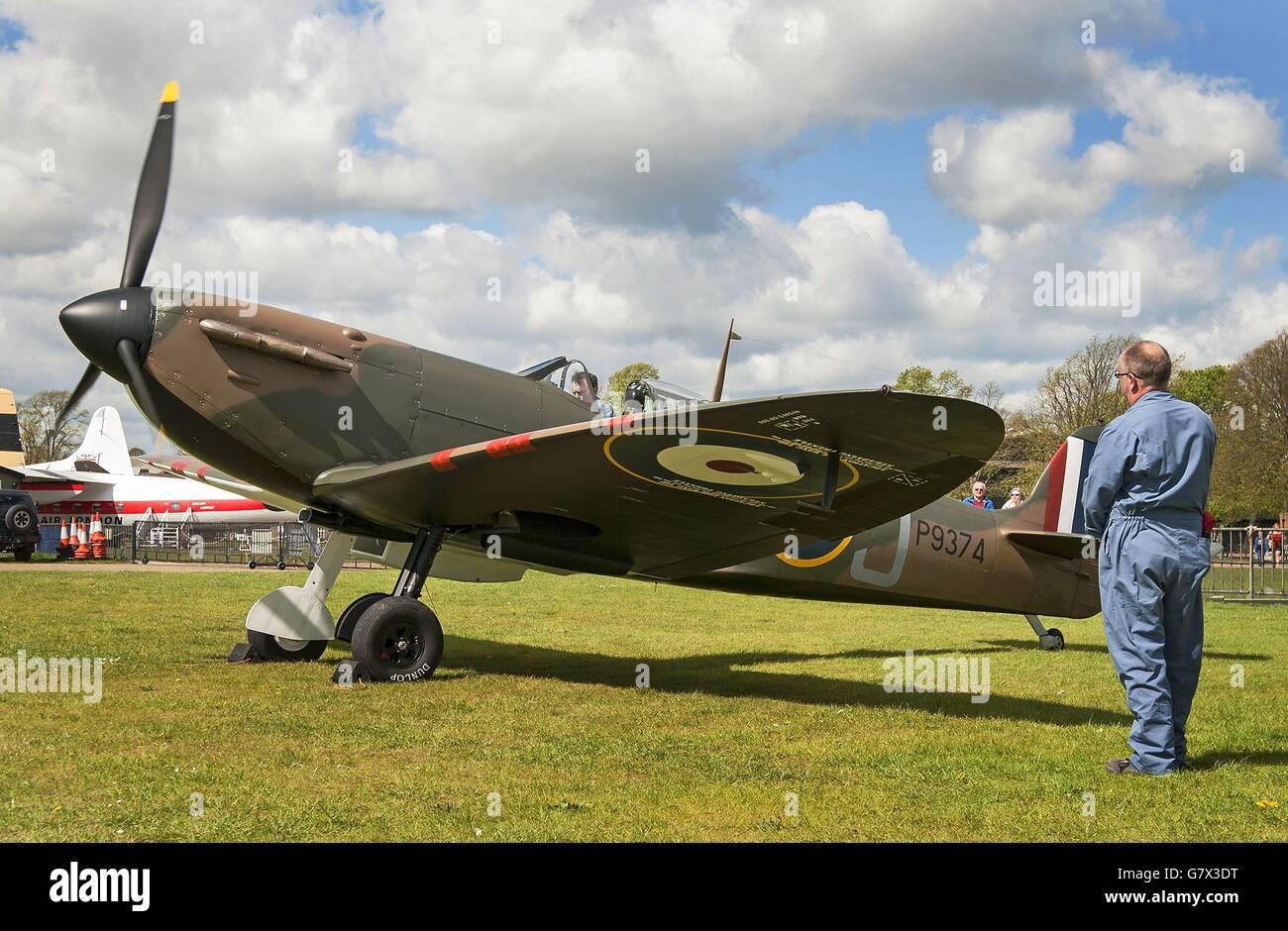 Spitfire sale Stock Photo