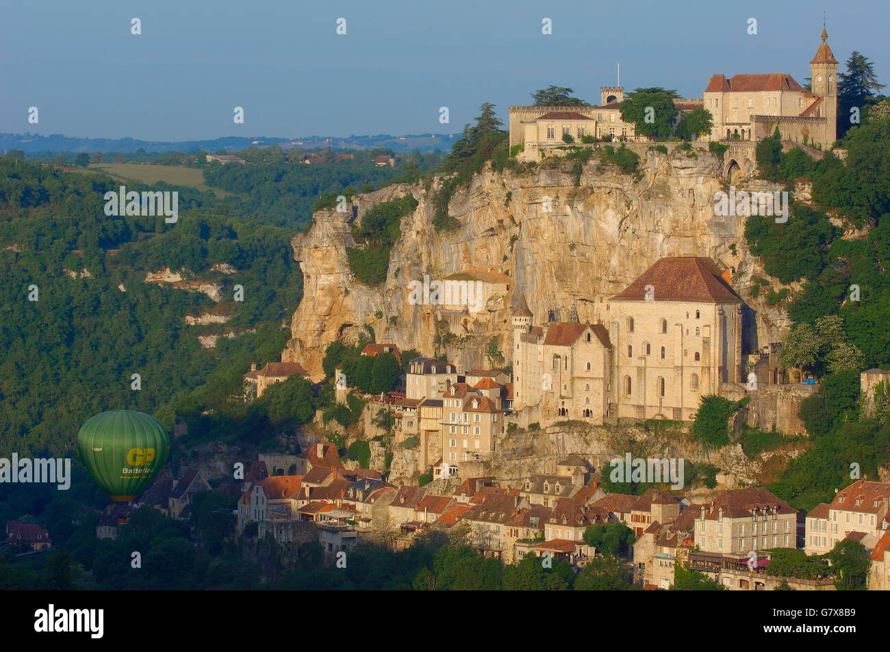 Rocamadour, Midi-Pyrenees Region, Lot Department, France, Europe Stock Photo