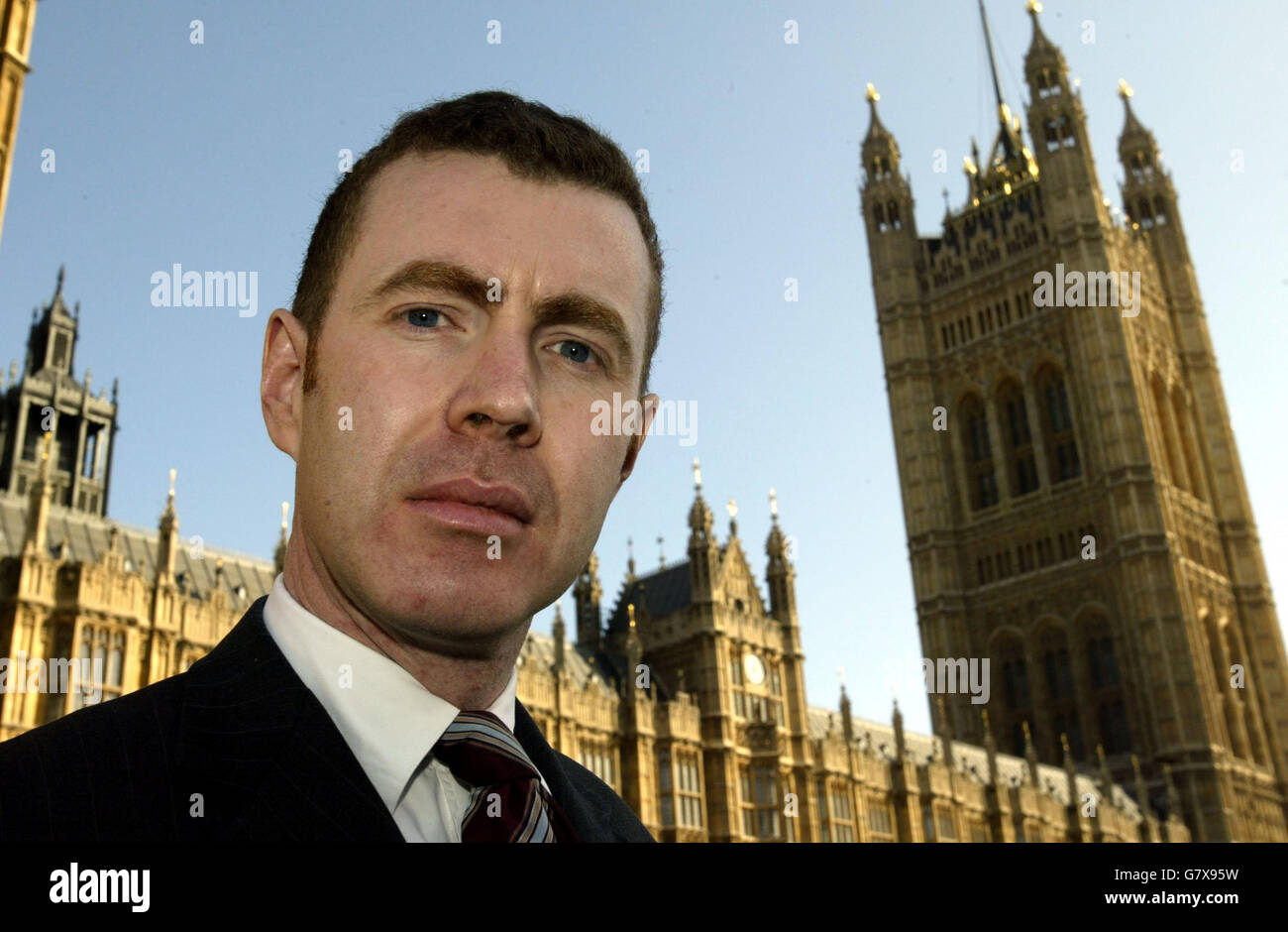 MP ordered from House of Commons - Stock Image