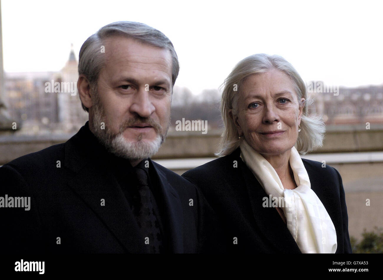 Chechen Exile holds Press Conference - House of Lords - Stock Image